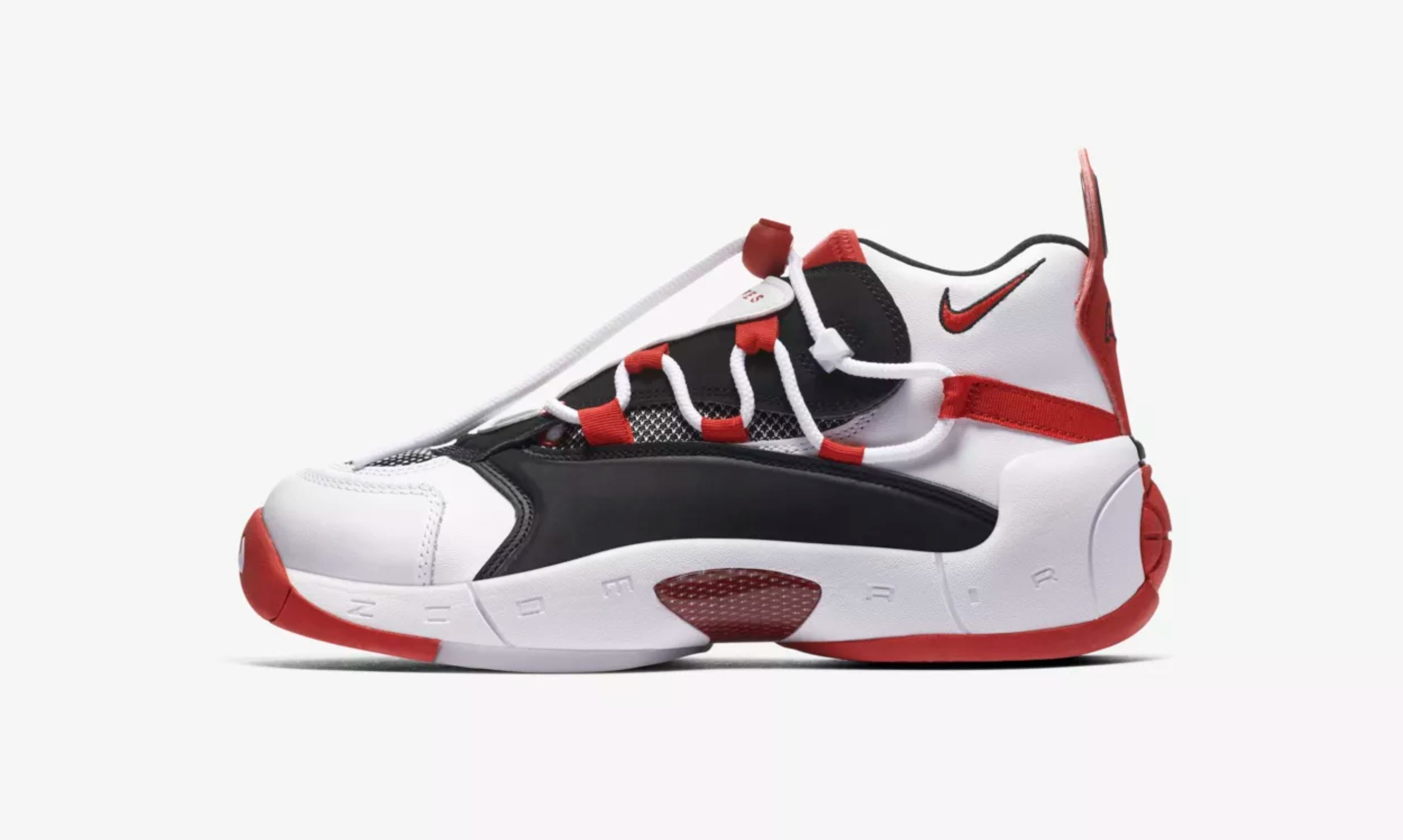 nike air swoopes 2 white red sherly swoopes