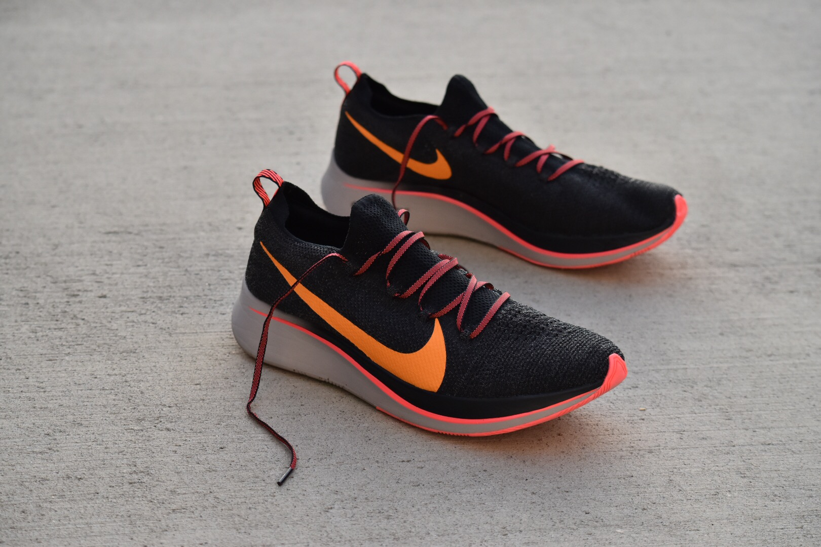nike zoom fly flyknit first impressions