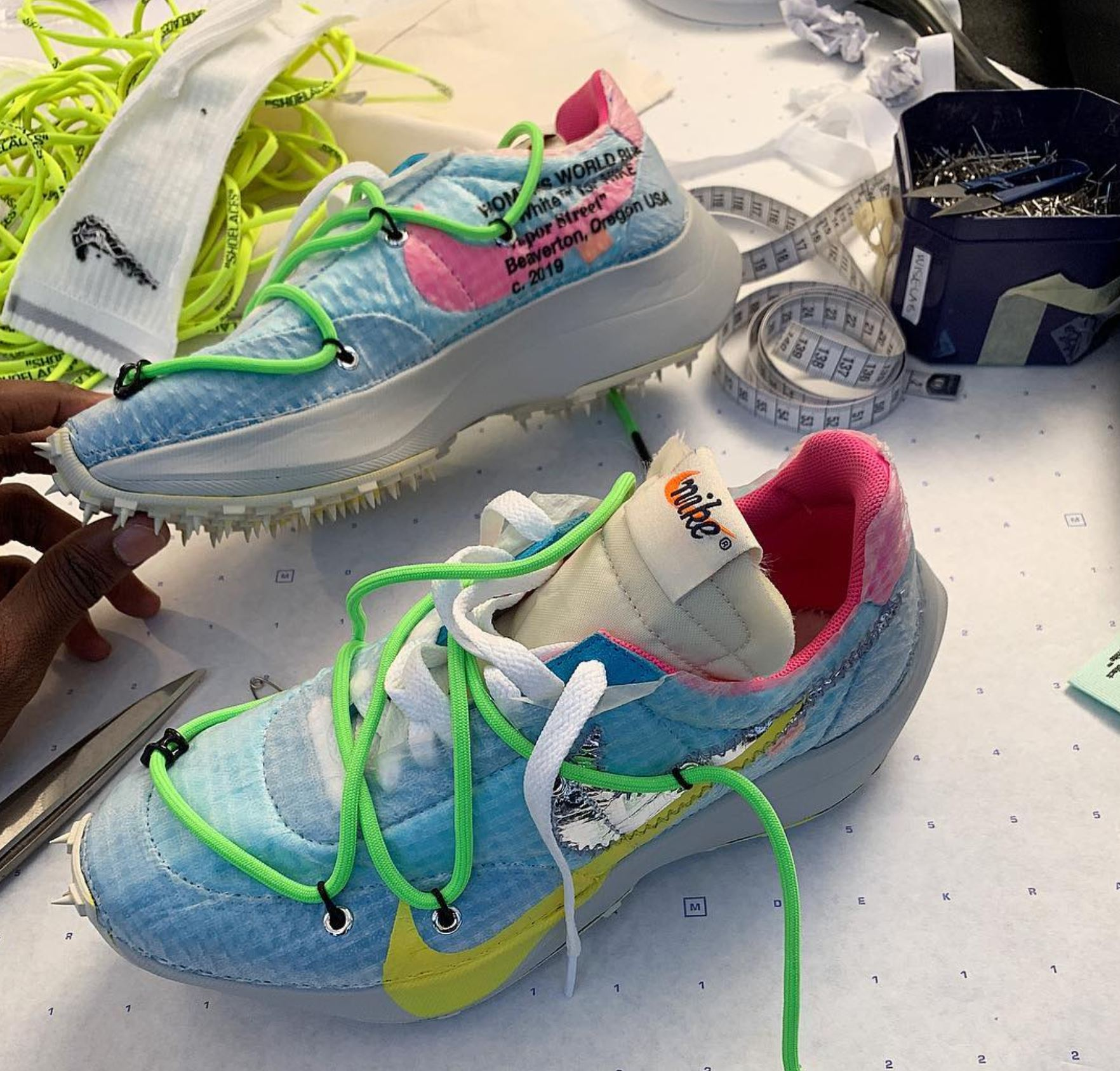 virgil abloh off white nike womens sneaker