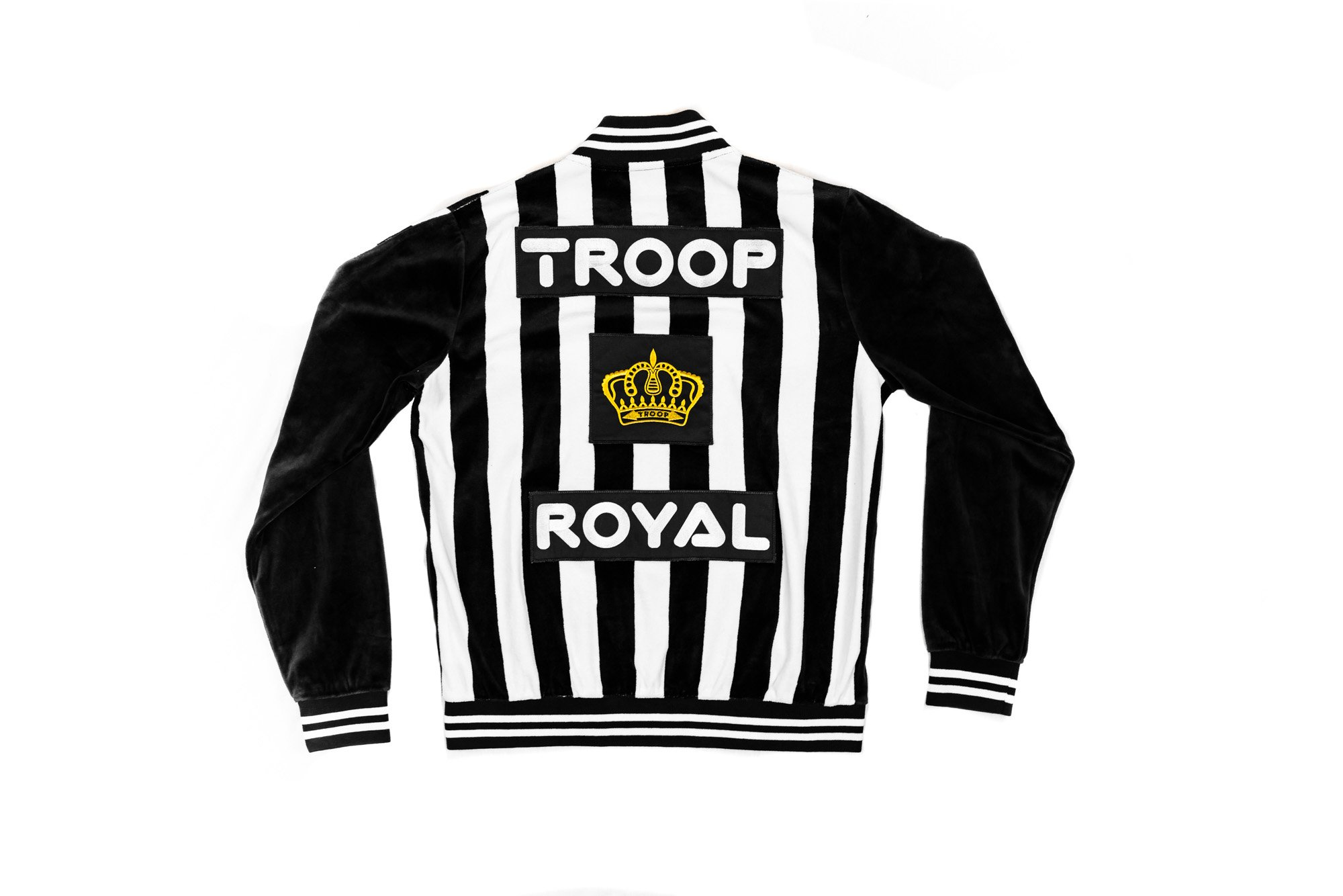 world of troop velour suit jacket