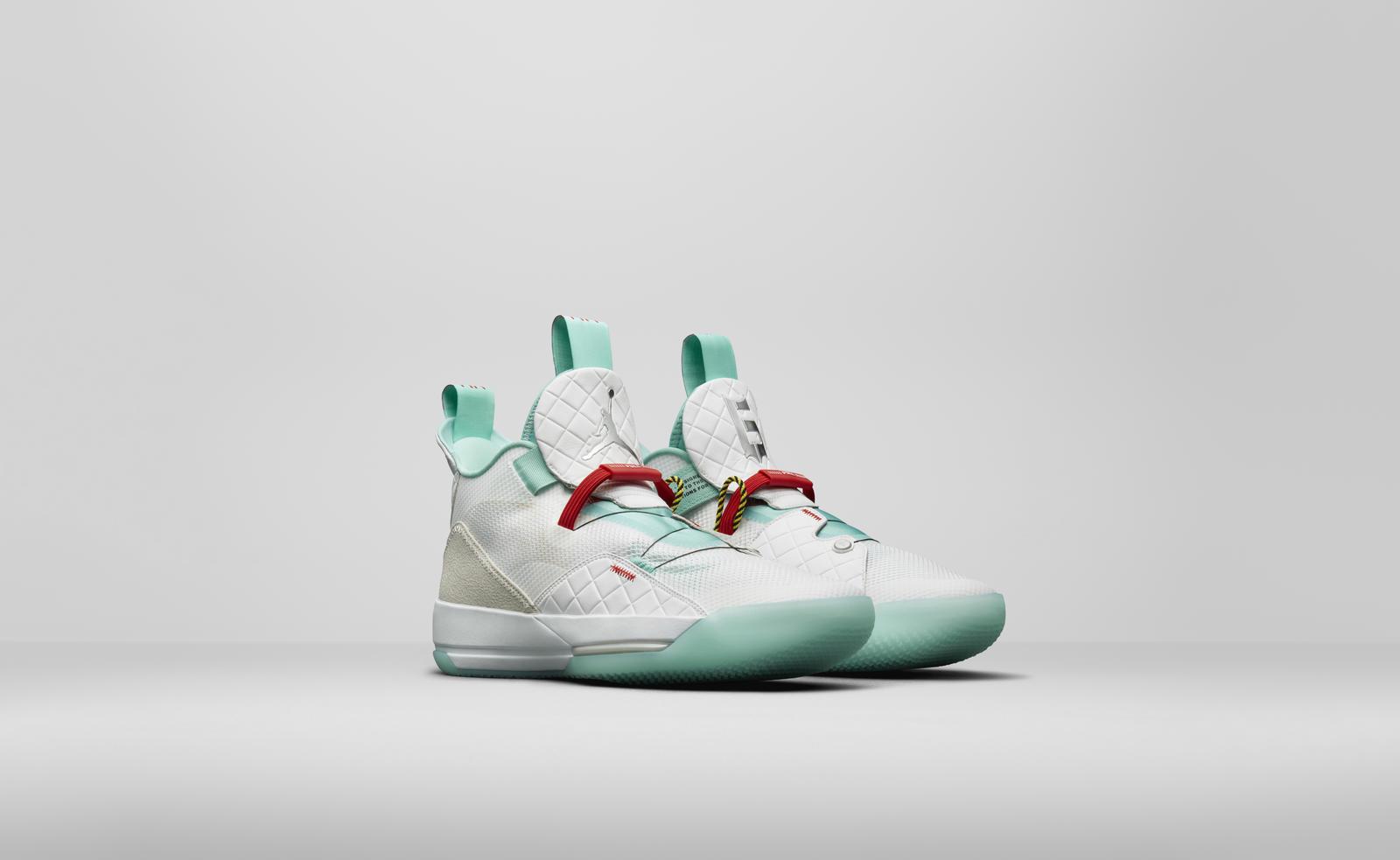 Air Jordan 33 guo ailun PE jade