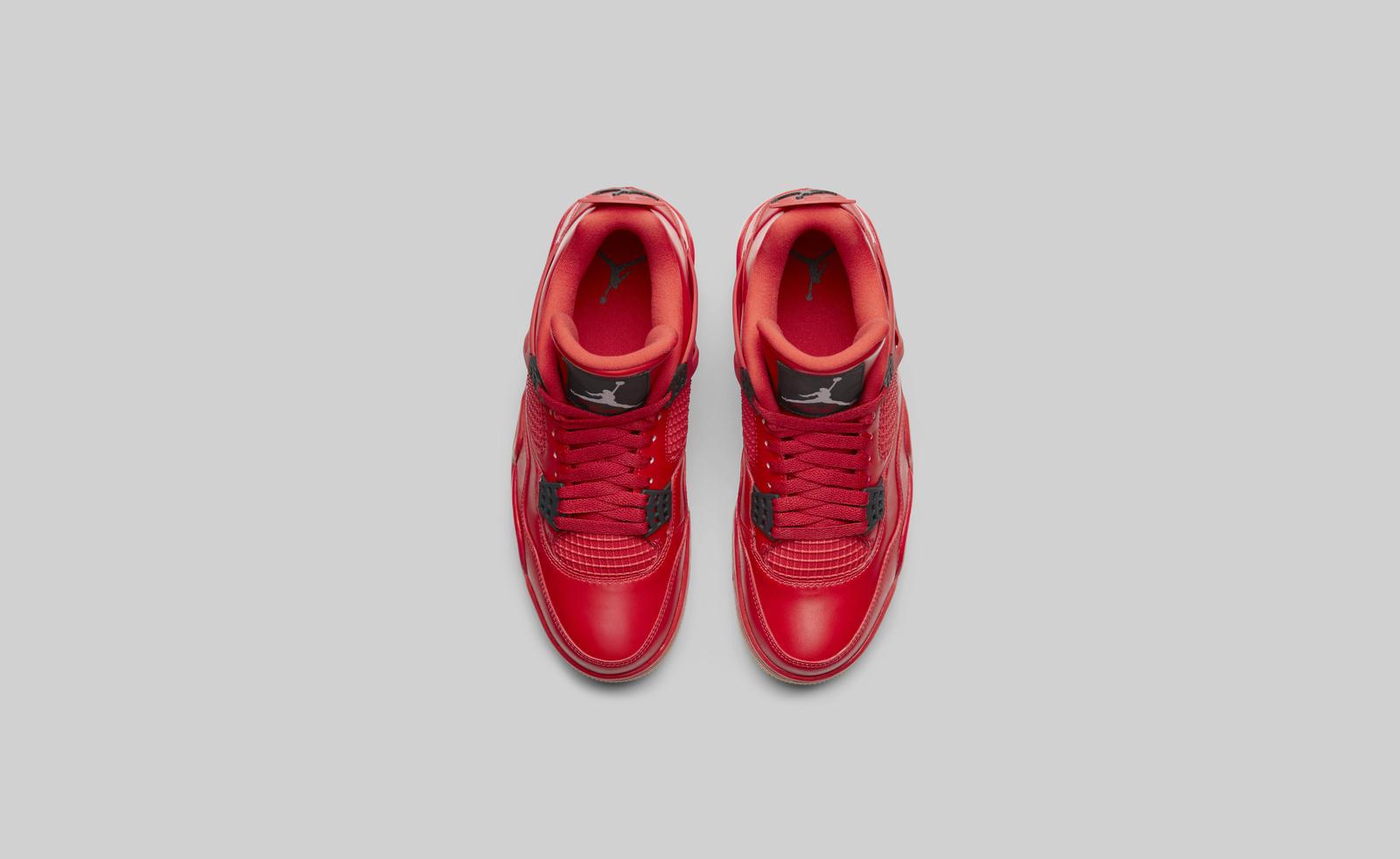 Air Jordan 4 fire red womens top