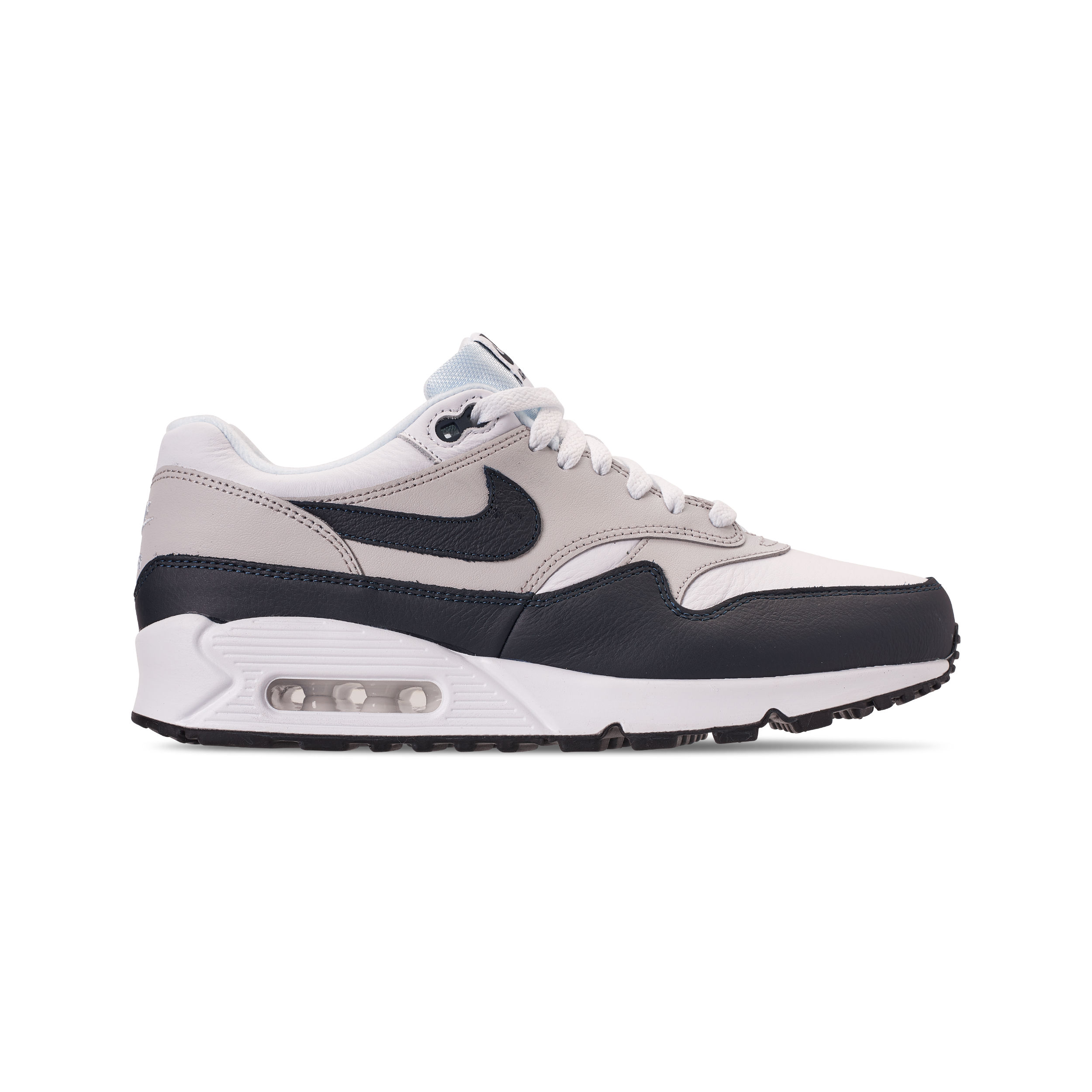 NIKE AIR MAX 90:1 WHITE:DARK OBSIDIAN NEUTRAL GREY BLACK 2