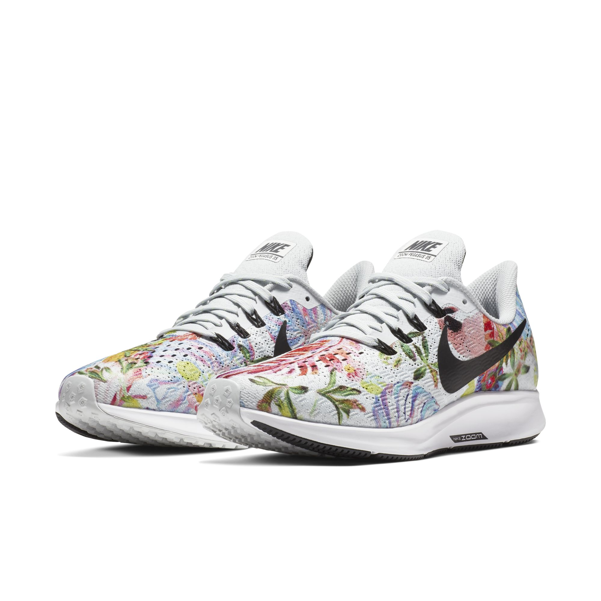 NIKE WMNS AIR ZOOM PEGASUS 35 GPX RS PURE PLATINUM:BLACK-WHITE 1