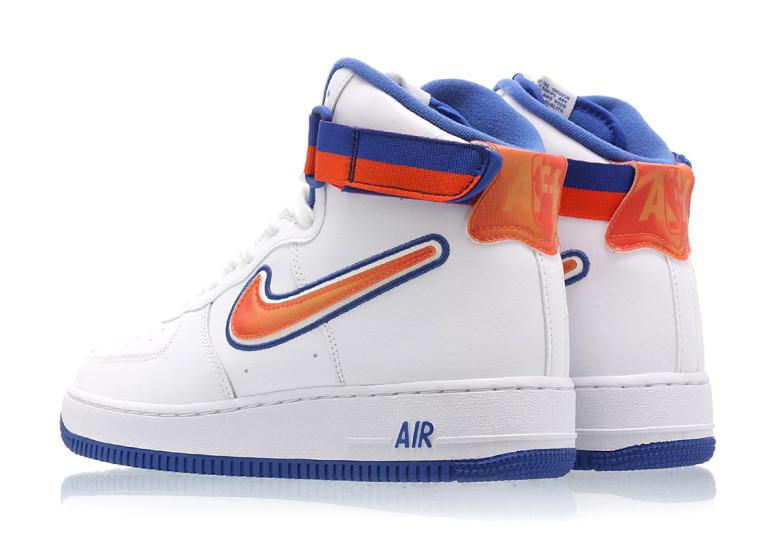 New York Knicks Inspired Nike Air Force