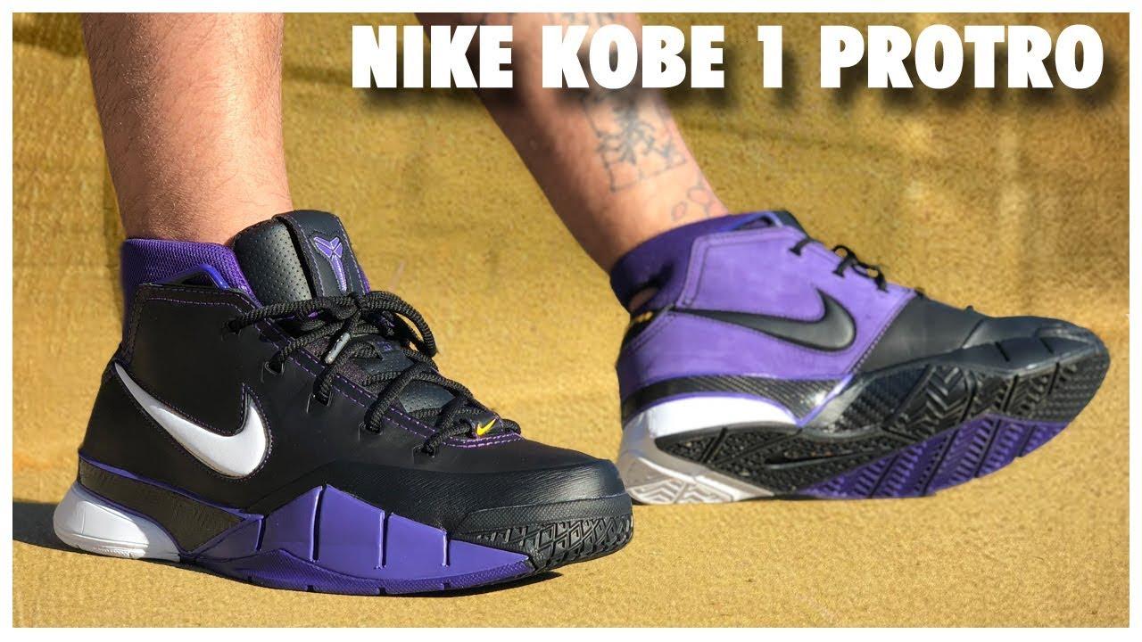Nike Kobe 1 Protro OG 'Court Purple' Review
