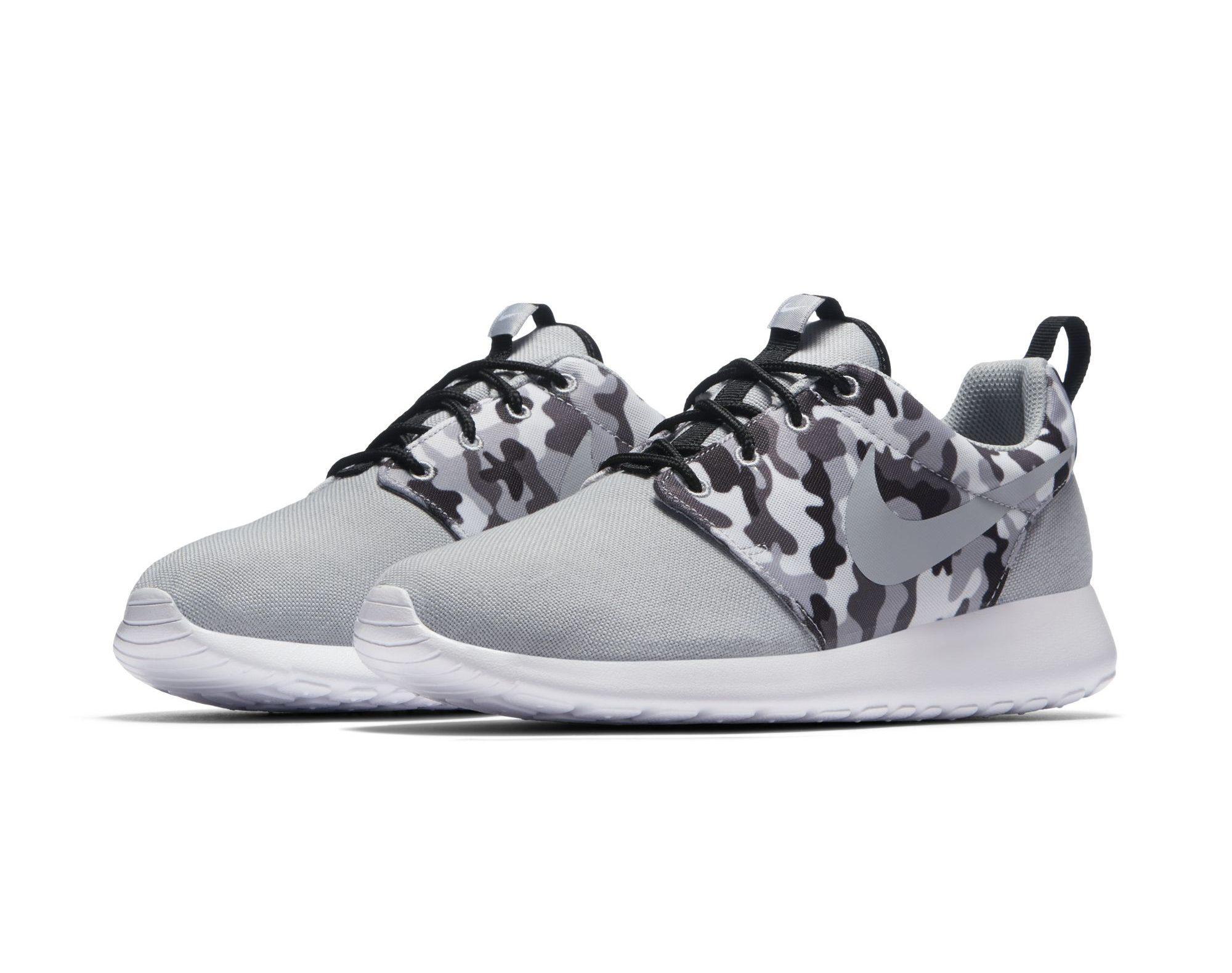 Latest Nike Roshe One SE Pack Uses Camo