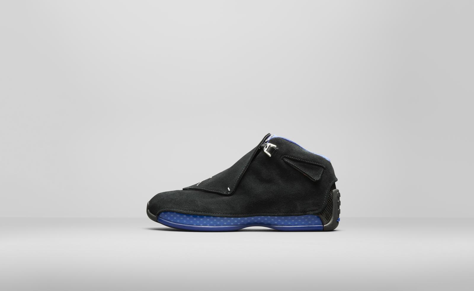 air jordan 18 black sport royal