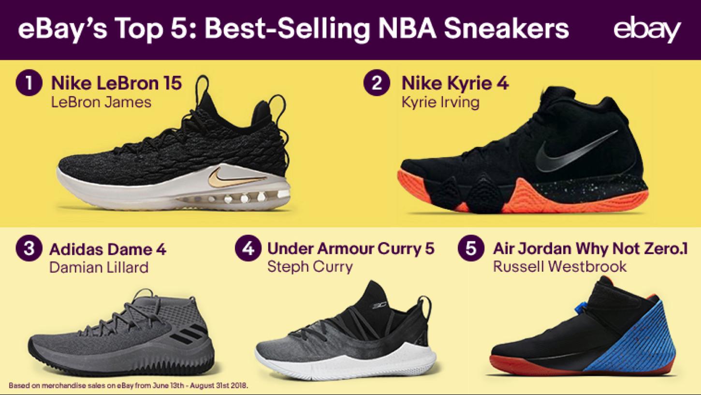 best selling nba sneakers ebay lebron james