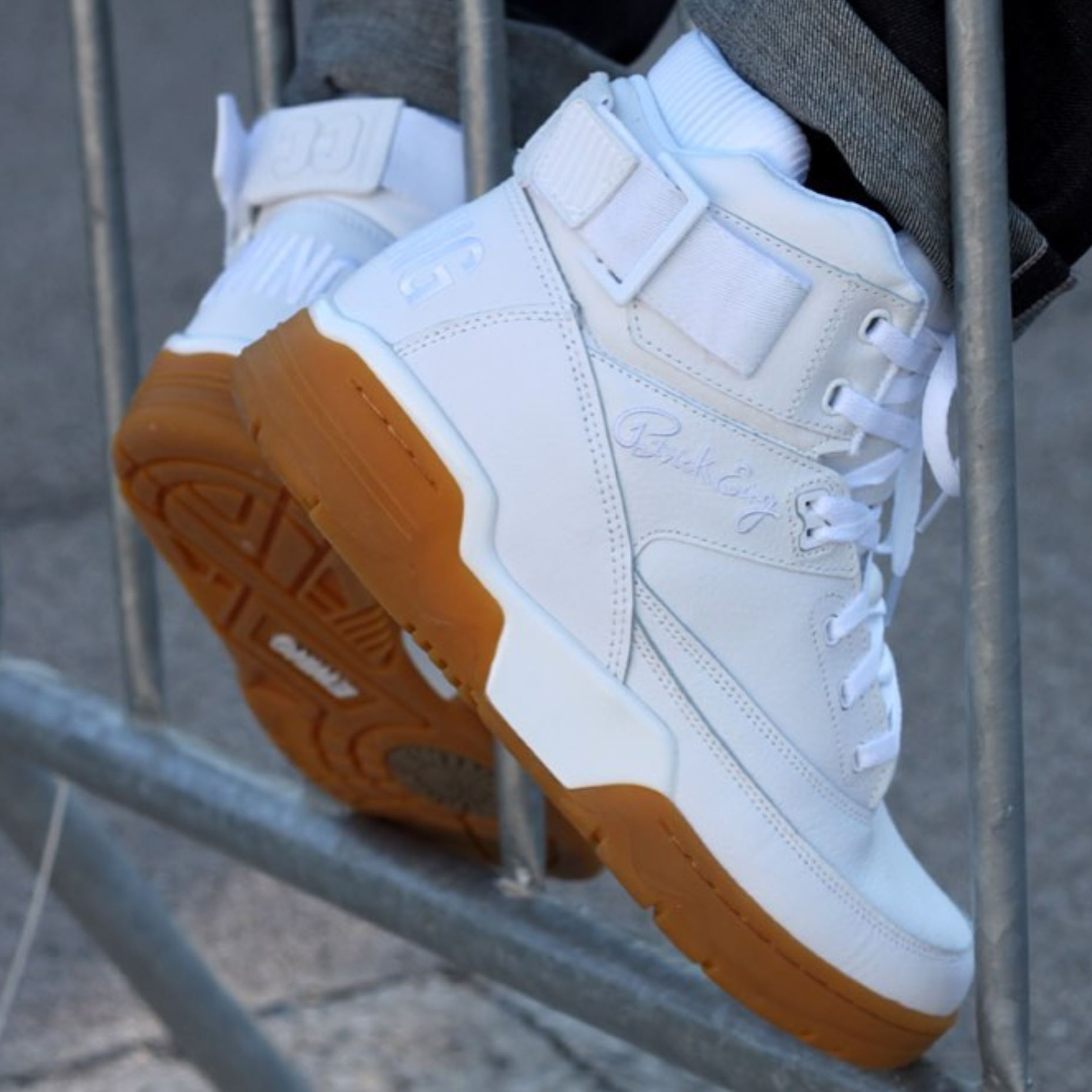 ewing athletics ewing 33 hi white gum