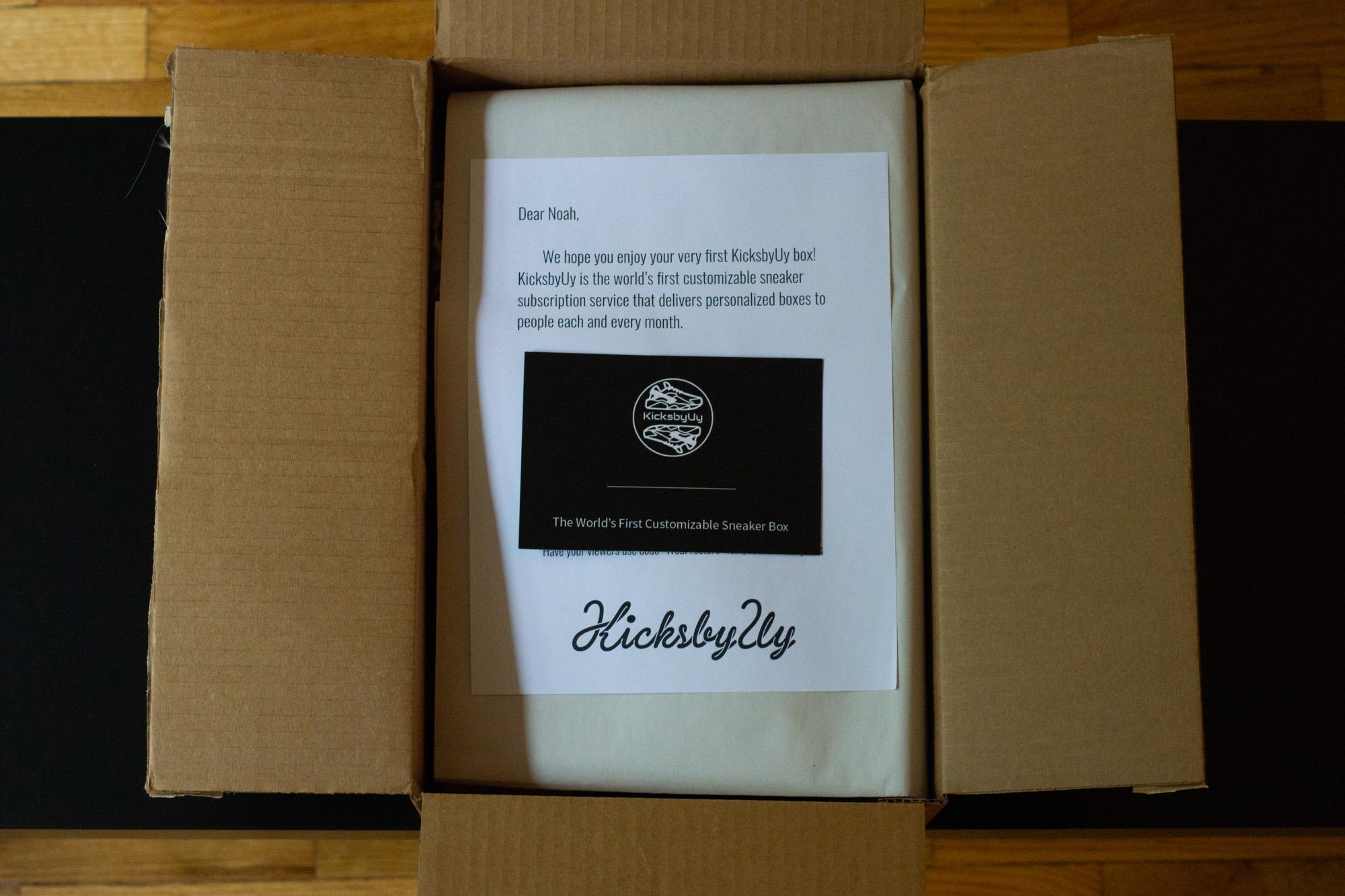 kicksbyuy worlds first customizable sneaker subscription box