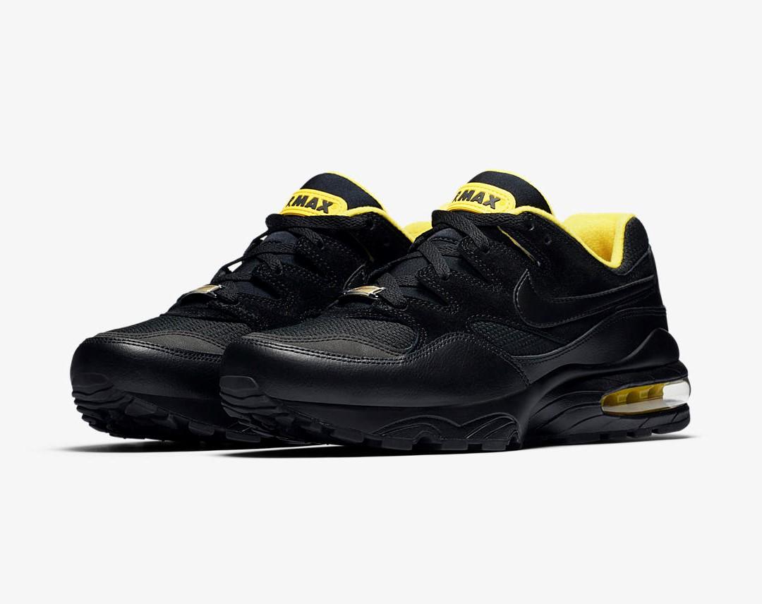nike air max 94 black yellow