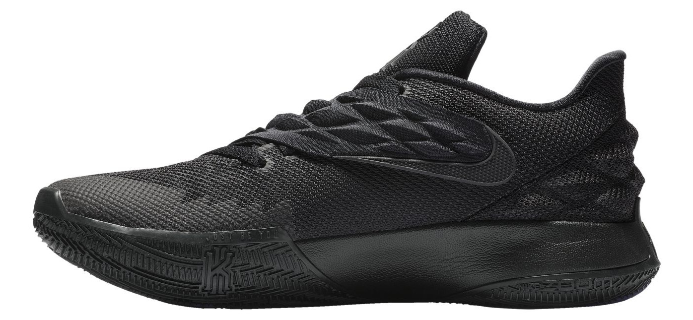 nike kyrie low triple black