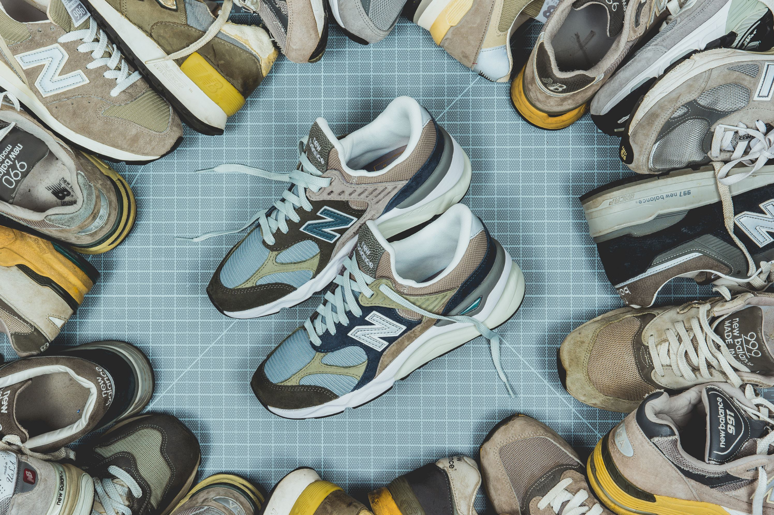 packer new balance X90 recon infinity edition 4