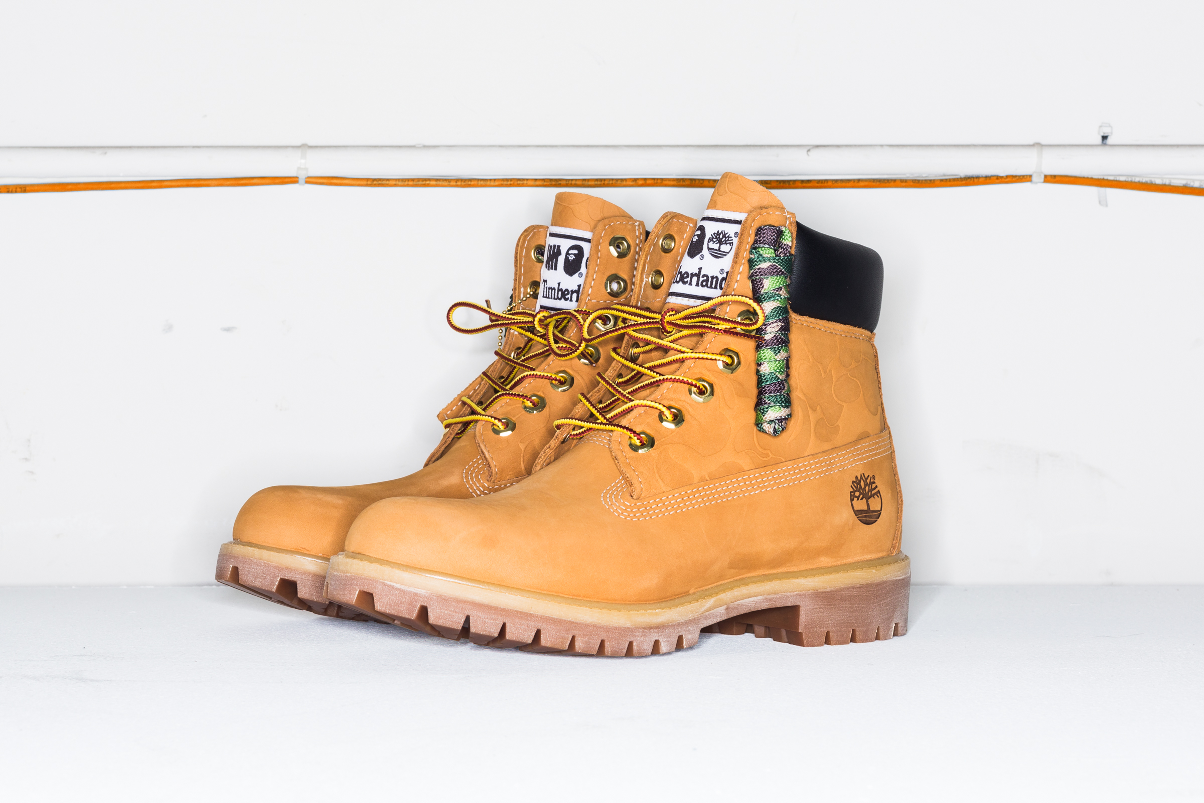 undefeated bape timberland boot release date