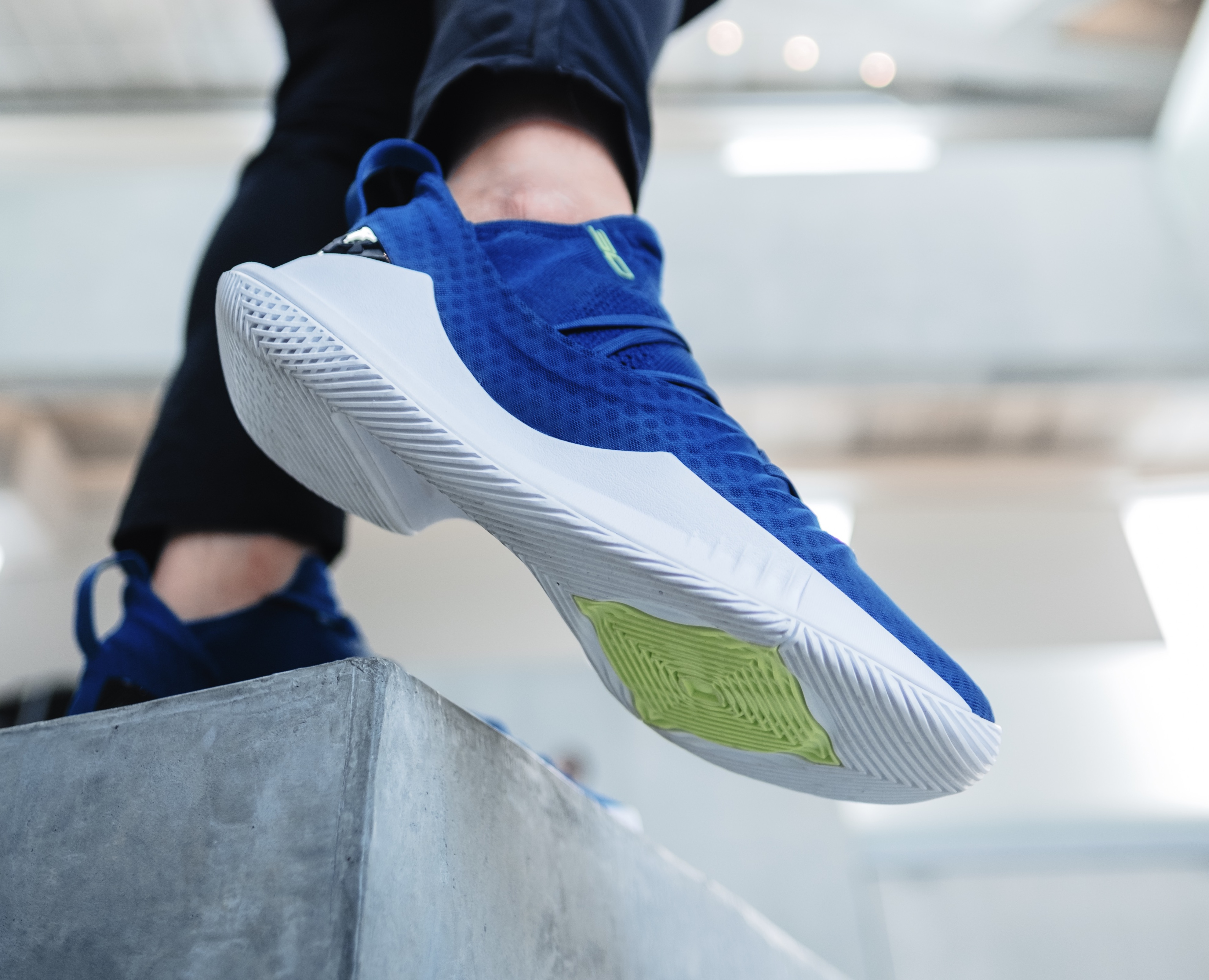 under armour curry 5 blue