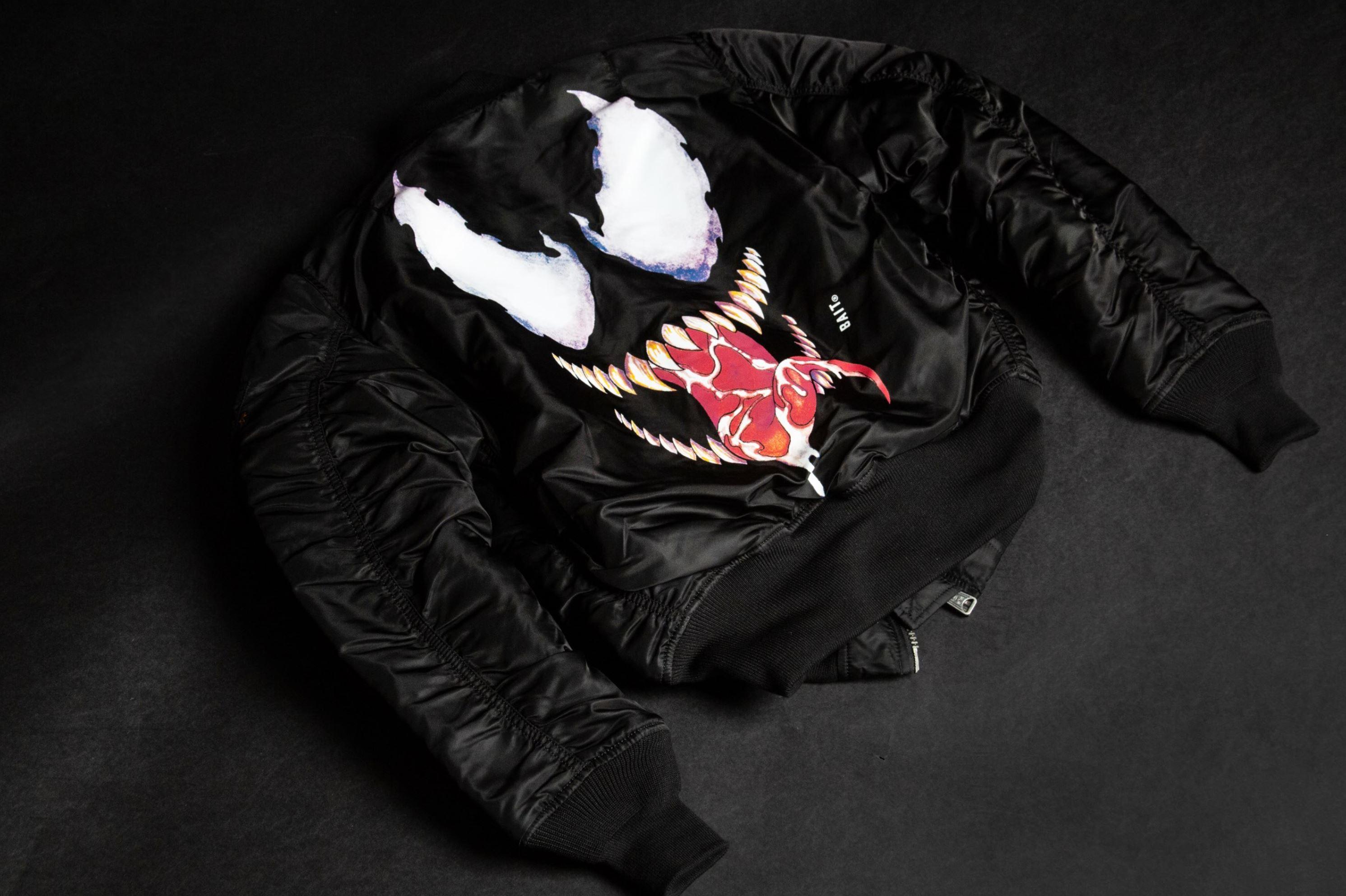 venom jacket bait alpha industries NYCC