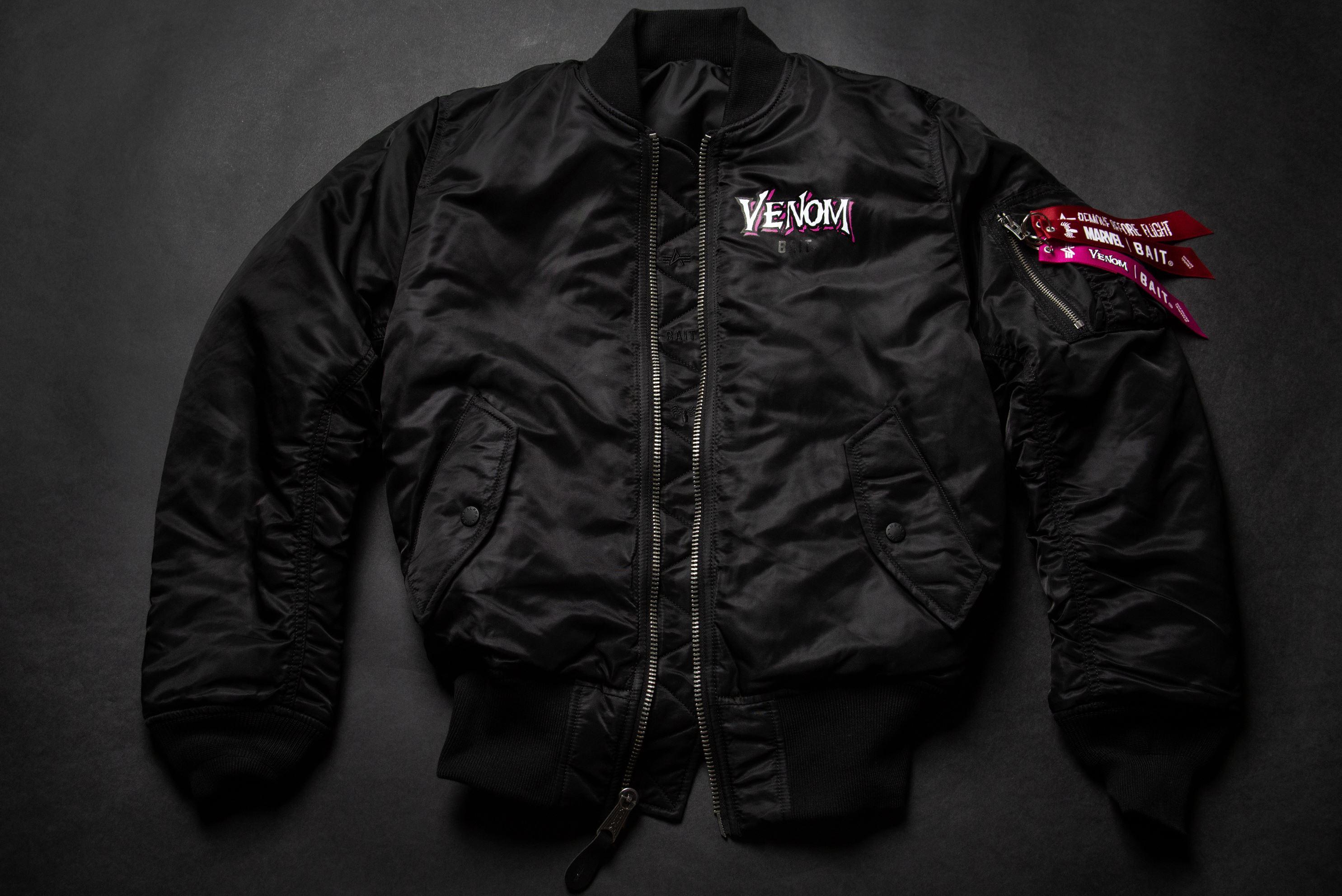venom jacket bait x alpha industries