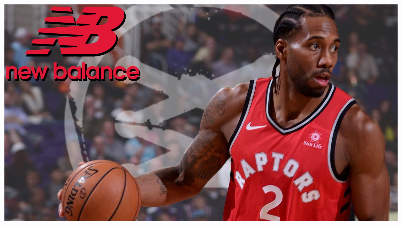 Kawhi Leonard Signs an Endorsement Deal with New Balance