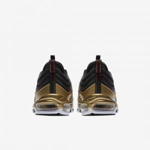 Nike Air Max 97 Qs Black Varsity Red Metallic Gold White 4