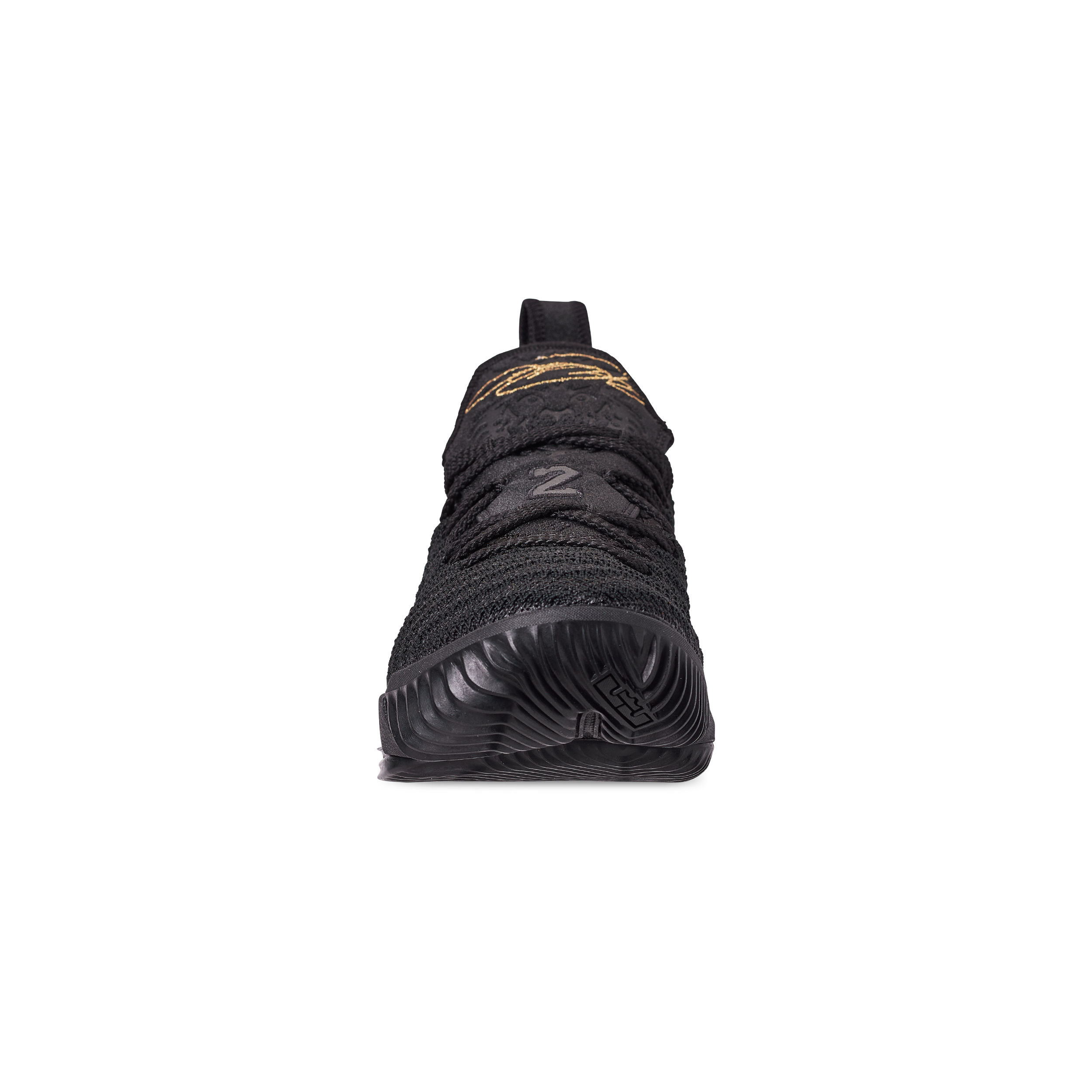 newest ac85d 66c7a NIKE LEBRON 16 GS I'M KING BLACK : METALLIC GOLD 4 - WearTesters