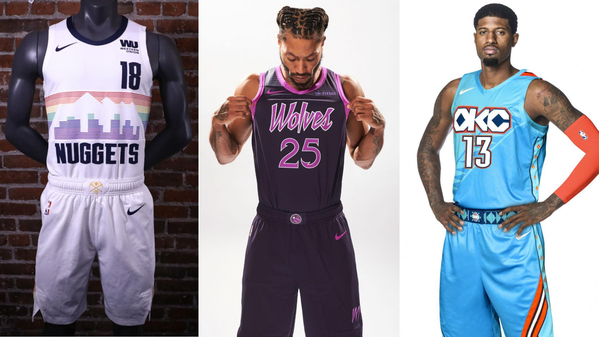 New City Edition Uniforms Unveiled by Nuggets, Wolves, Thunder, and More1