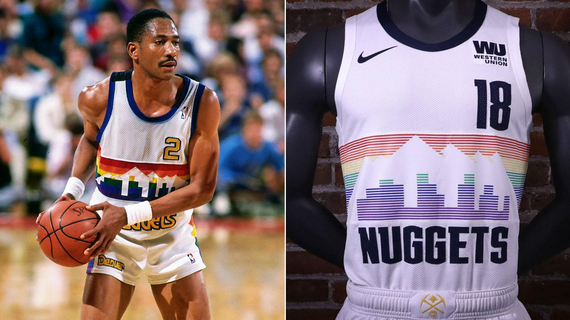 best loved df72c ba2ca New Nike NBA City Edition Uniforms for the Nuggets, Wolves ...