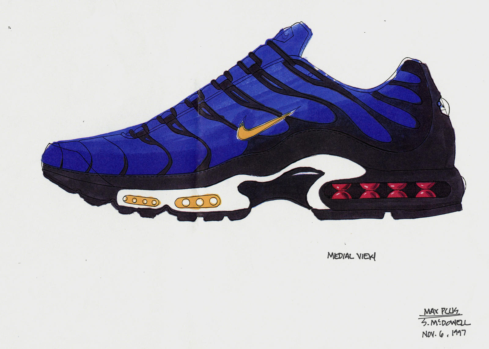 A Brief History of the Air Max Plus From its Designer Sean