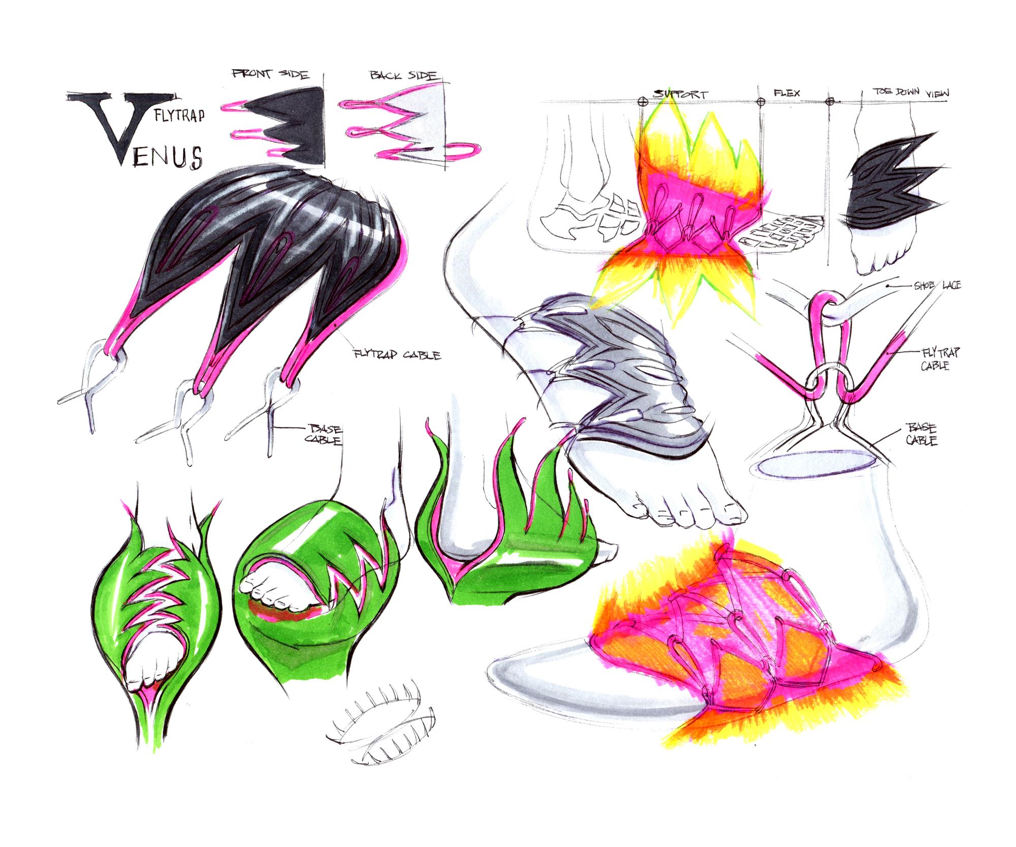 Nike kyrie 5 design sketch Benjamin