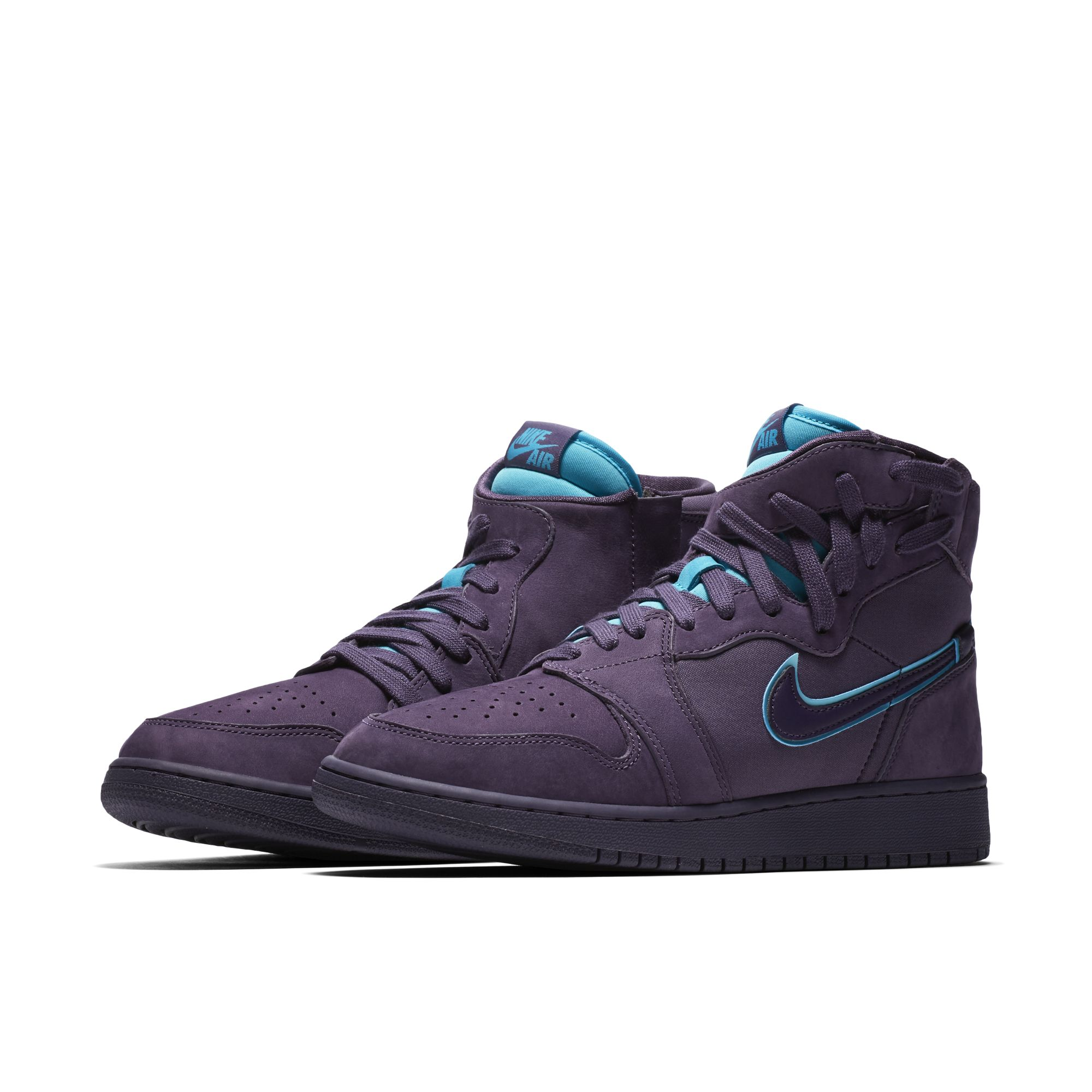 AIR JORDAN 1 REBEL XX DARK RAISIN:RAPID TEAL:WHITE:DARK RAISIN 1