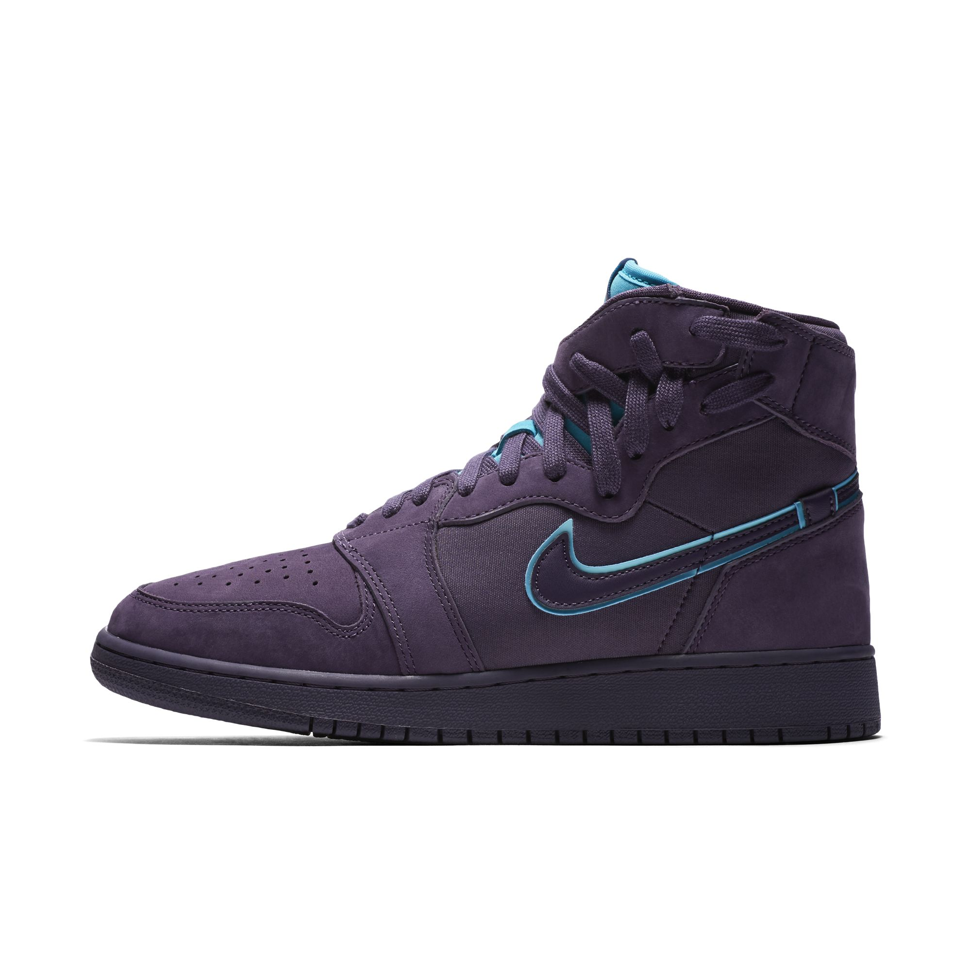 AIR JORDAN 1 REBEL XX DARK RAISIN:RAPID TEAL:WHITE:DARK RAISIN 3