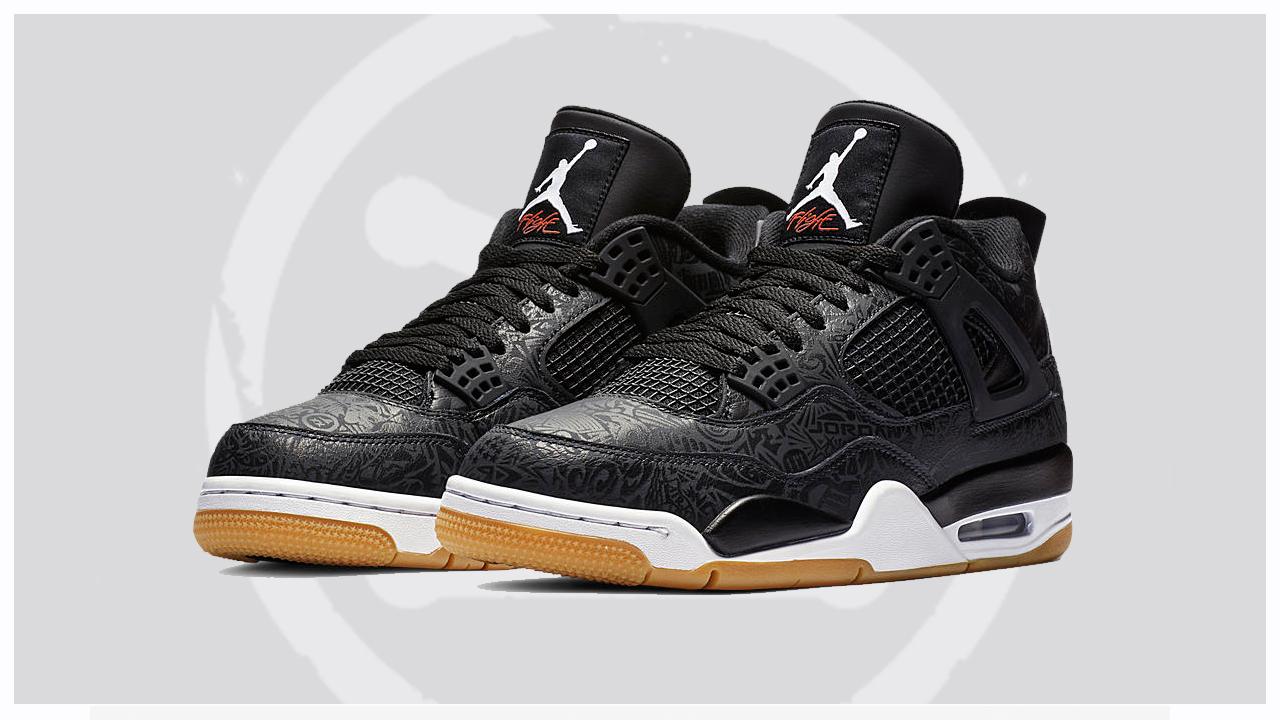 Air-Jordan-4-Laser-Black-Gum