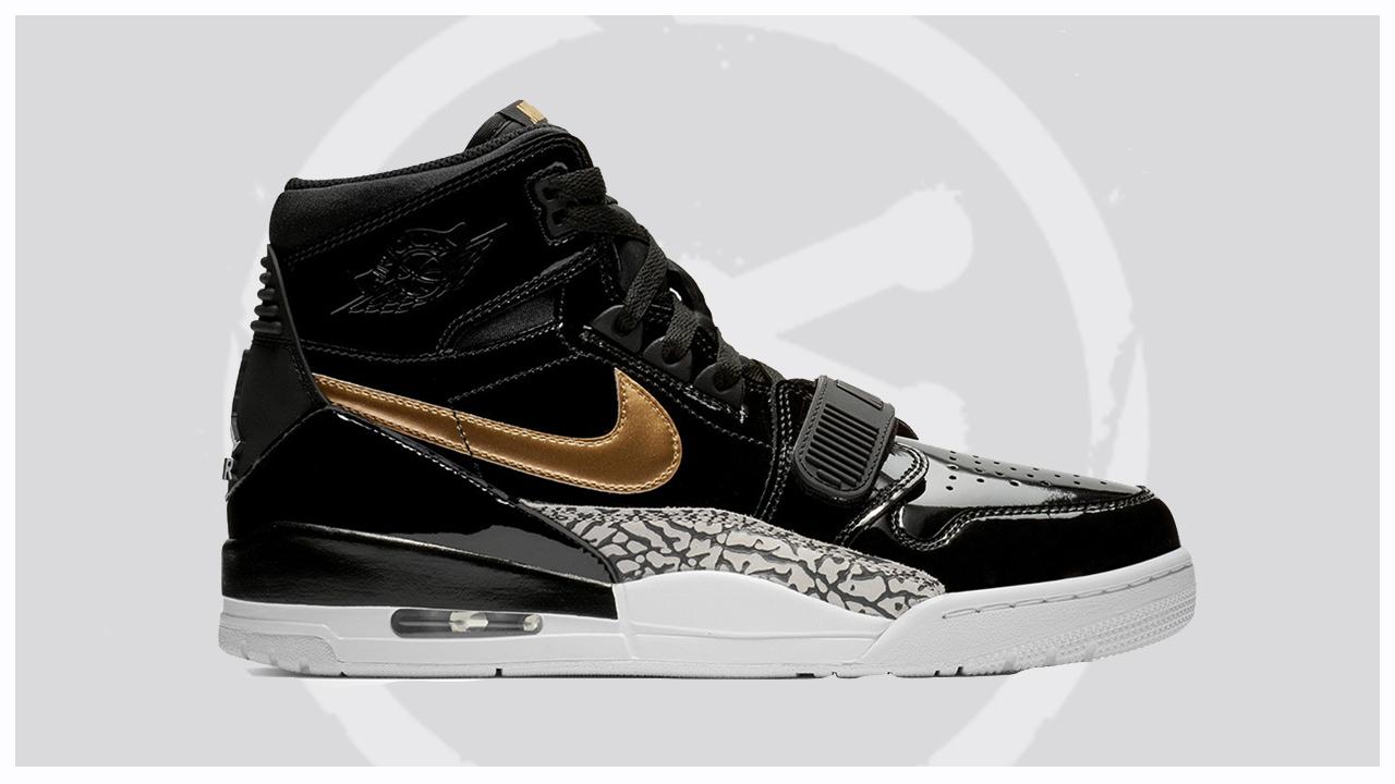 Air-Jordan-Legacy-312-Black-Gold-Patent-Leather