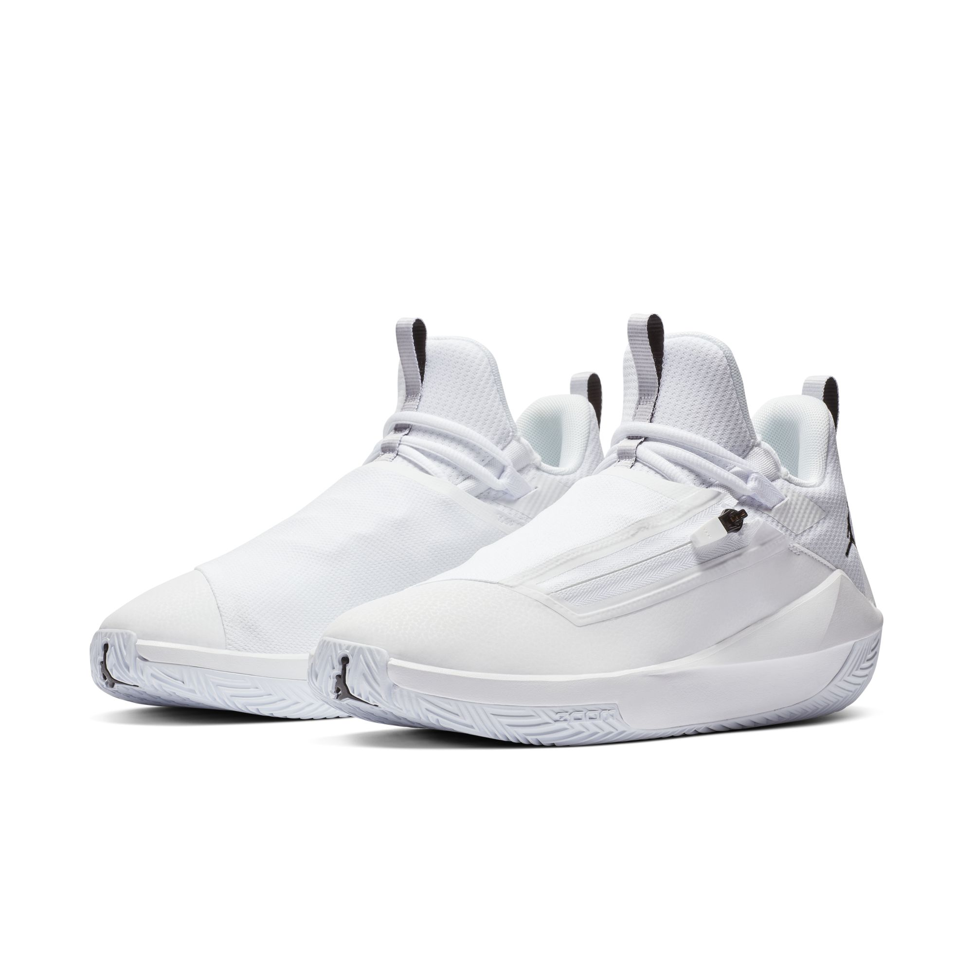JORDAN JUMPMAN HUSTLE PF WHITE:BLACK 1