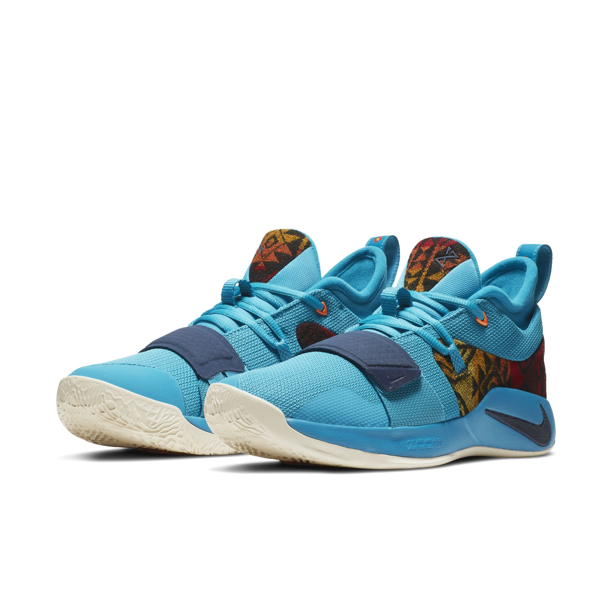 NIKE PG 2.5 PENDLETON MULTI- COLOR : COLLEGE NAVY 1