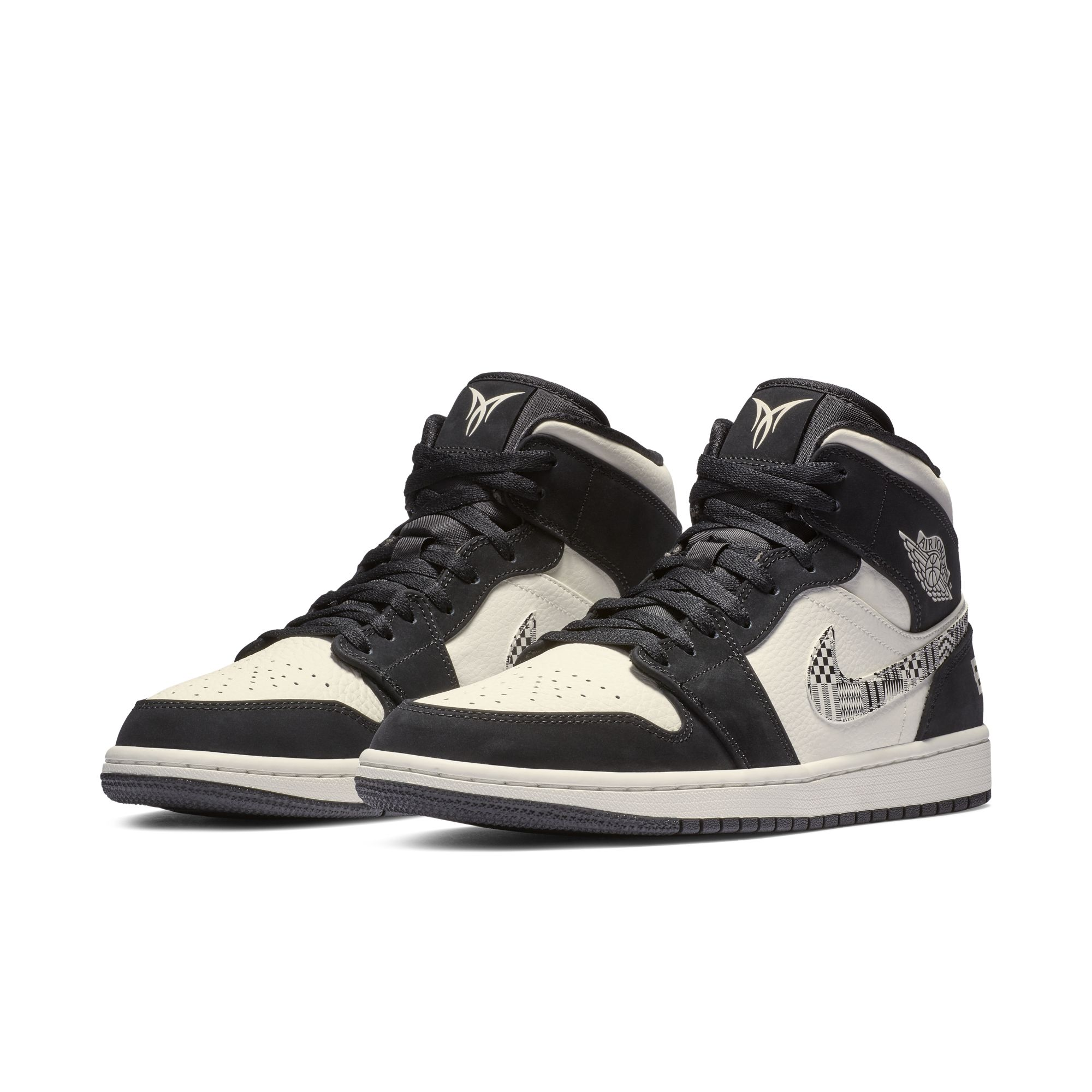 AIR JORDAN 1 MD EQUALITY WHITE:BLACK 1