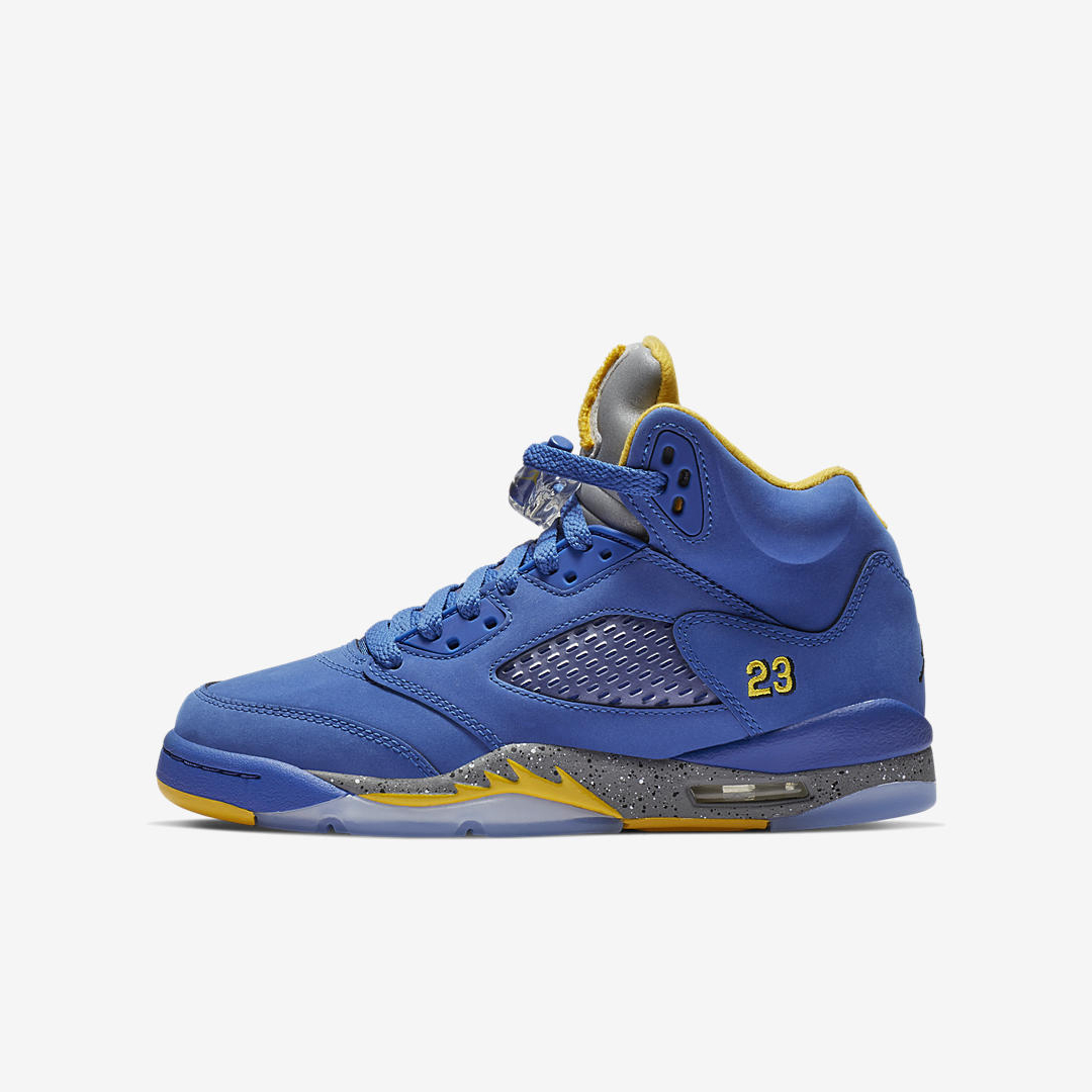 AIR JORDAN RETRO 5 LANEY JSP GS:PS VARSITY ROYAL:VARSITY ...