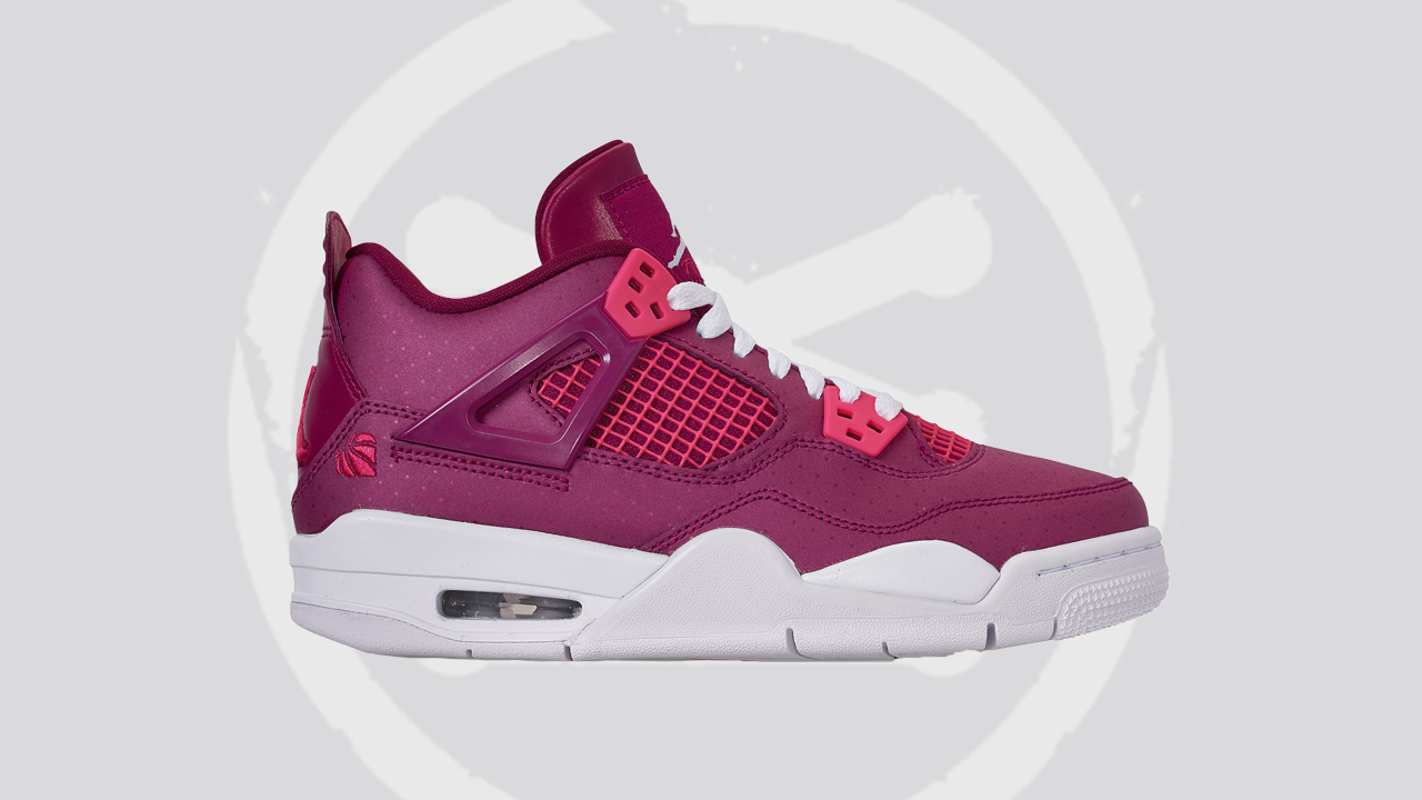 Air Jordan 4 Retro Berry-Pink-White Featured Image