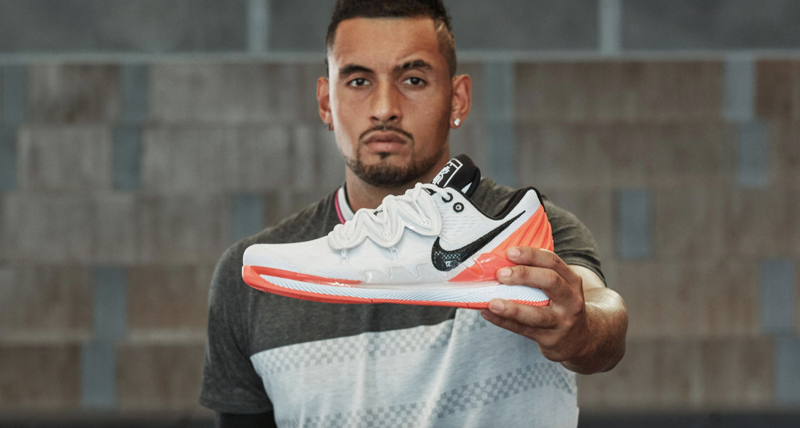 half off detailed pictures super cheap Kyrie Irving and Nick Kyrgios Team Up for the Nike Vapor X ...