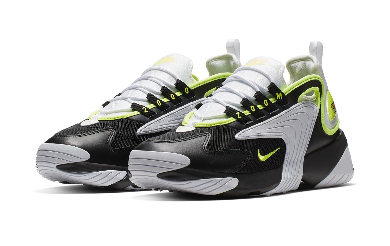 The Nike Zoom 2K Appears in Black/Volt