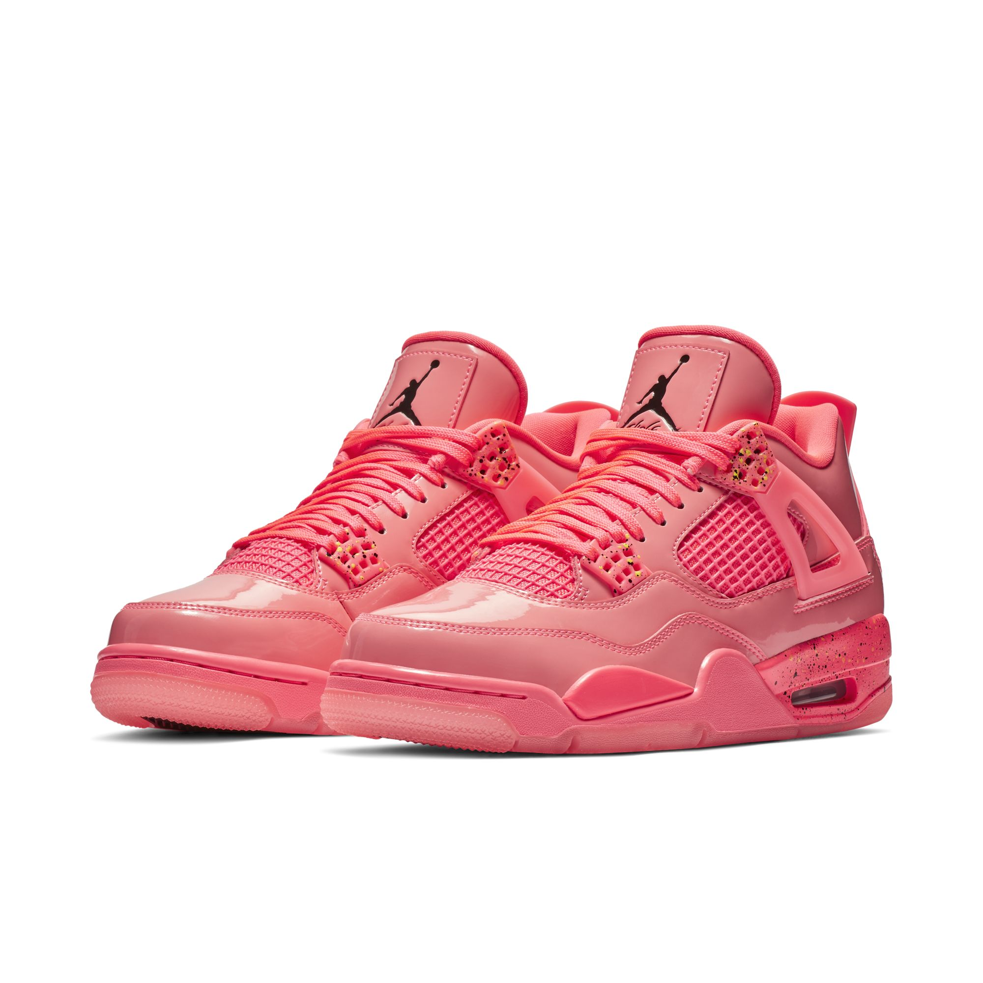 WMNS AIR JORDAN 4 RETRO NRG HOT PUNCH:BLACK-VOLIGHT 1