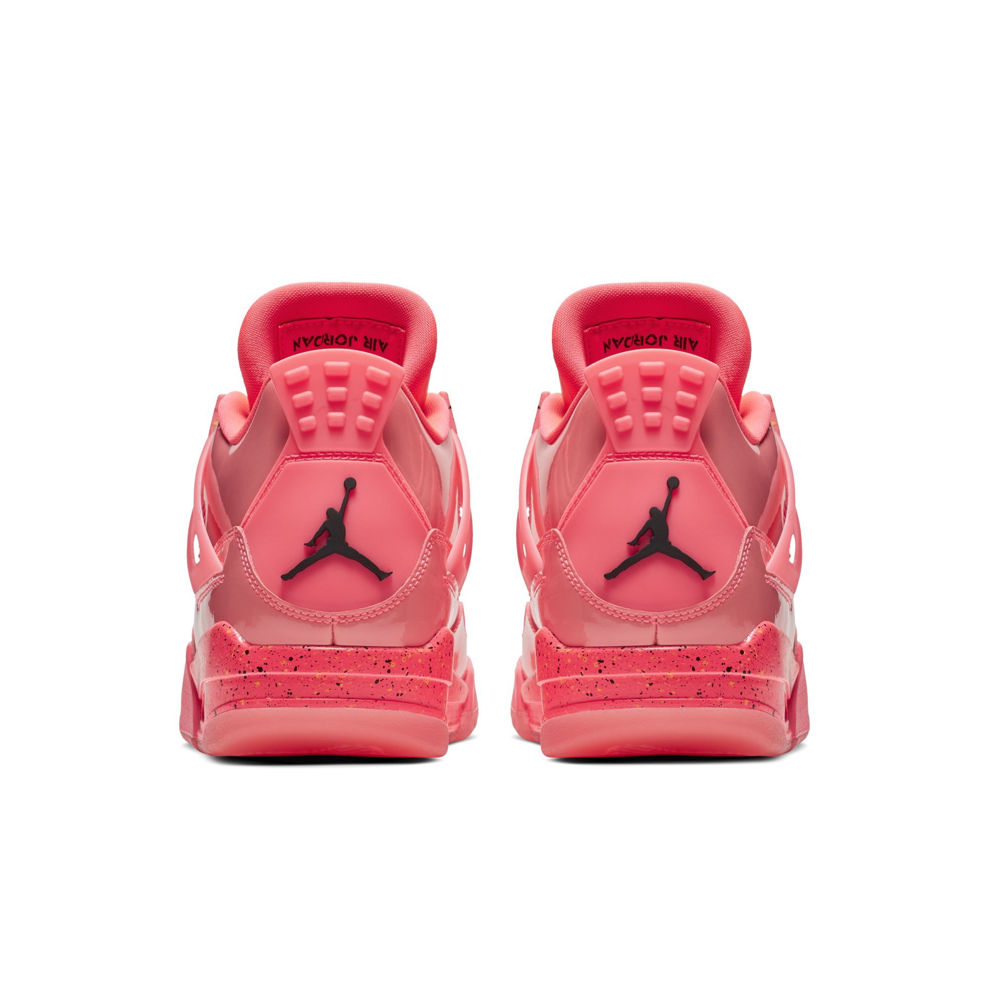 WMNS AIR JORDAN 4 RETRO NRG HOT PUNCH:BLACK-VOLIGHT 4