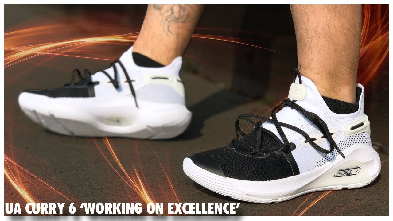 Under Armour Curry 6 'Working on Excellence' Review