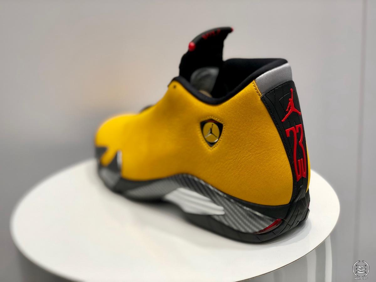 The Air Jordan 14 'Ferrari' Returns in