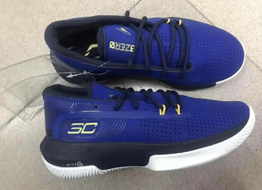 The Under Armour Curry 3ERO.III Leaks