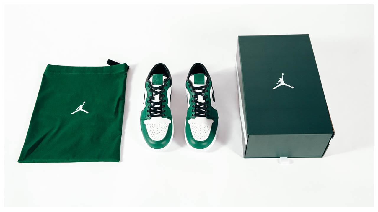 Air-Jordan-1-Low-New-York-Jets-Jamal-Adams-Custom