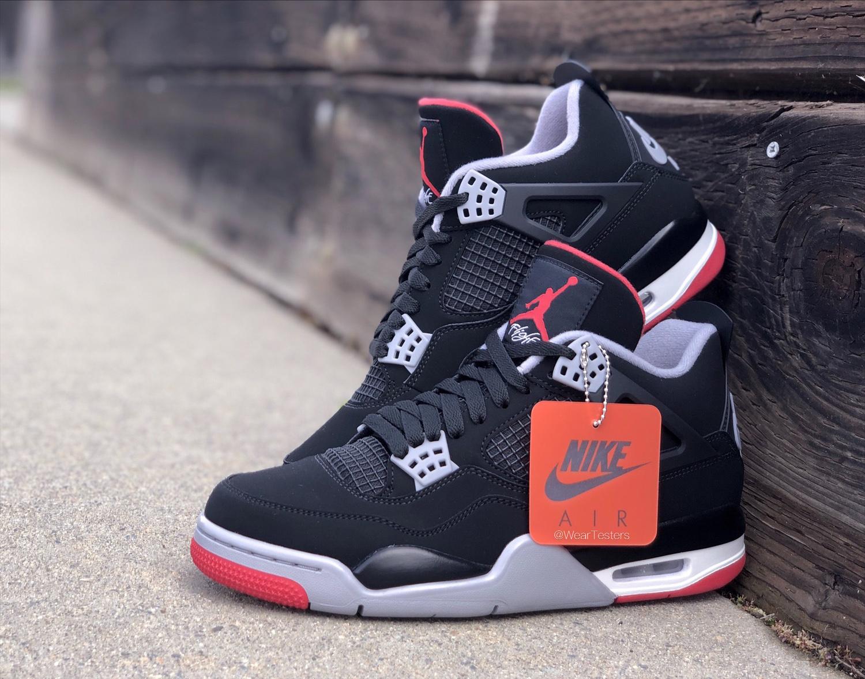 Air Jordan 4 Retro Black/Cement 2019
