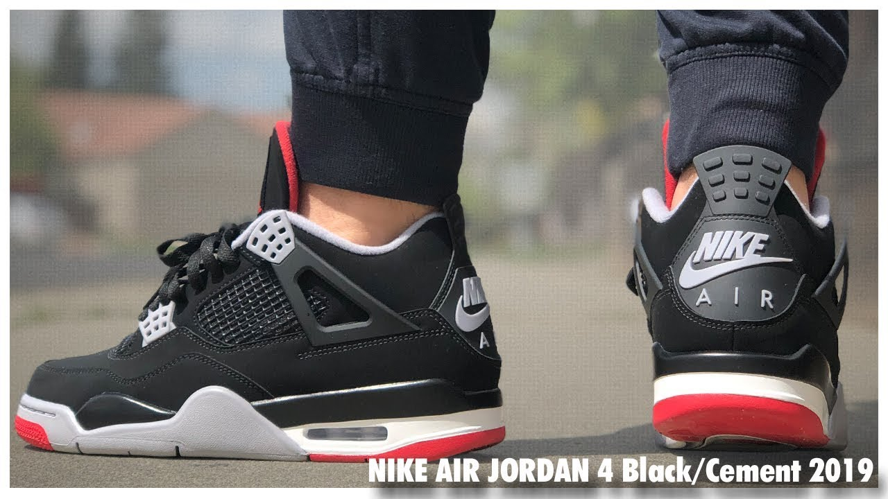 Air-Jordan-4-Retro-Black-Cement-2019-Review