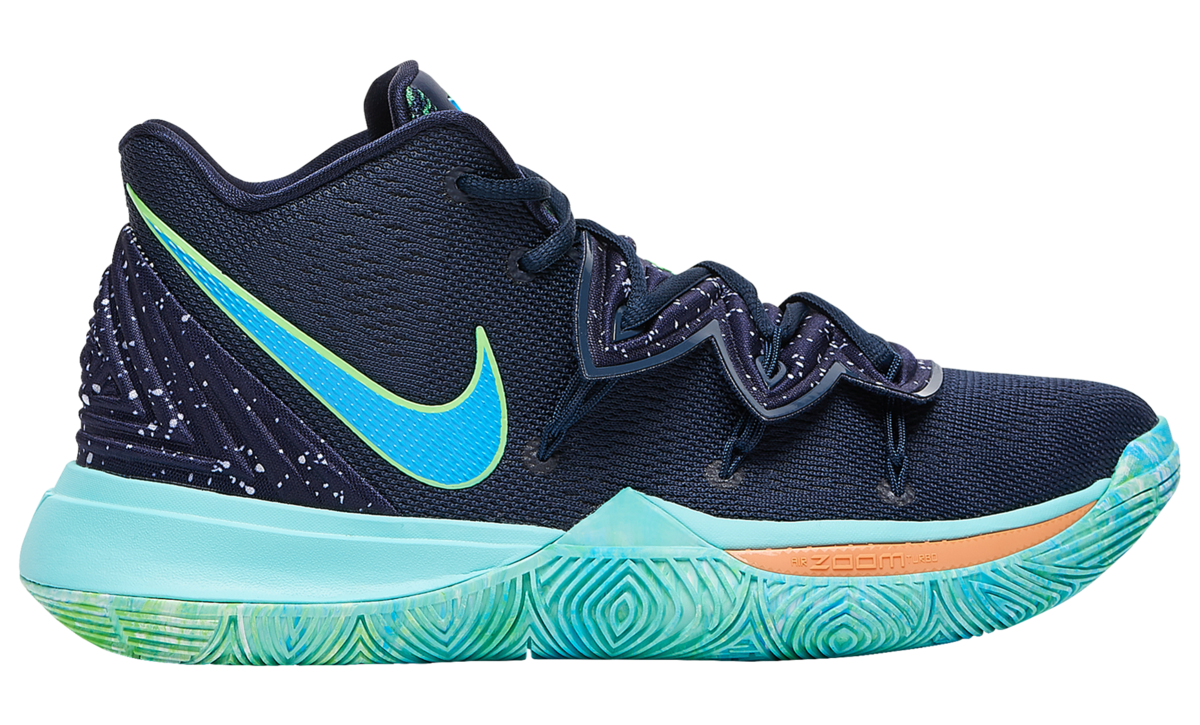 NIKE KYRIE 5 BLUE GREEN 1