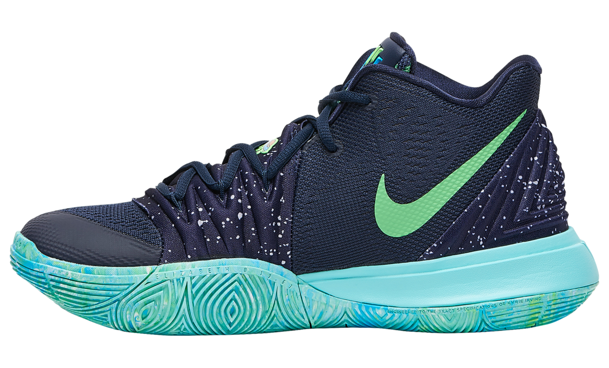 NIKE KYRIE 5 BLUE GREEN 2